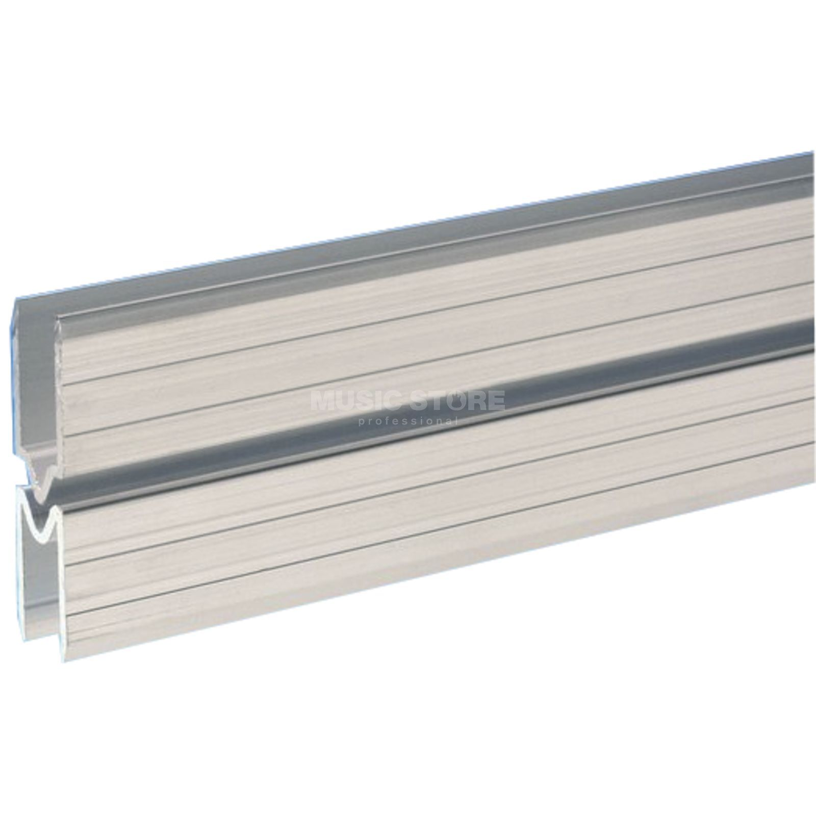 Adam Hall 6123 M - Aluminium Lid Location male for 9.5 mm Material Produktbillede
