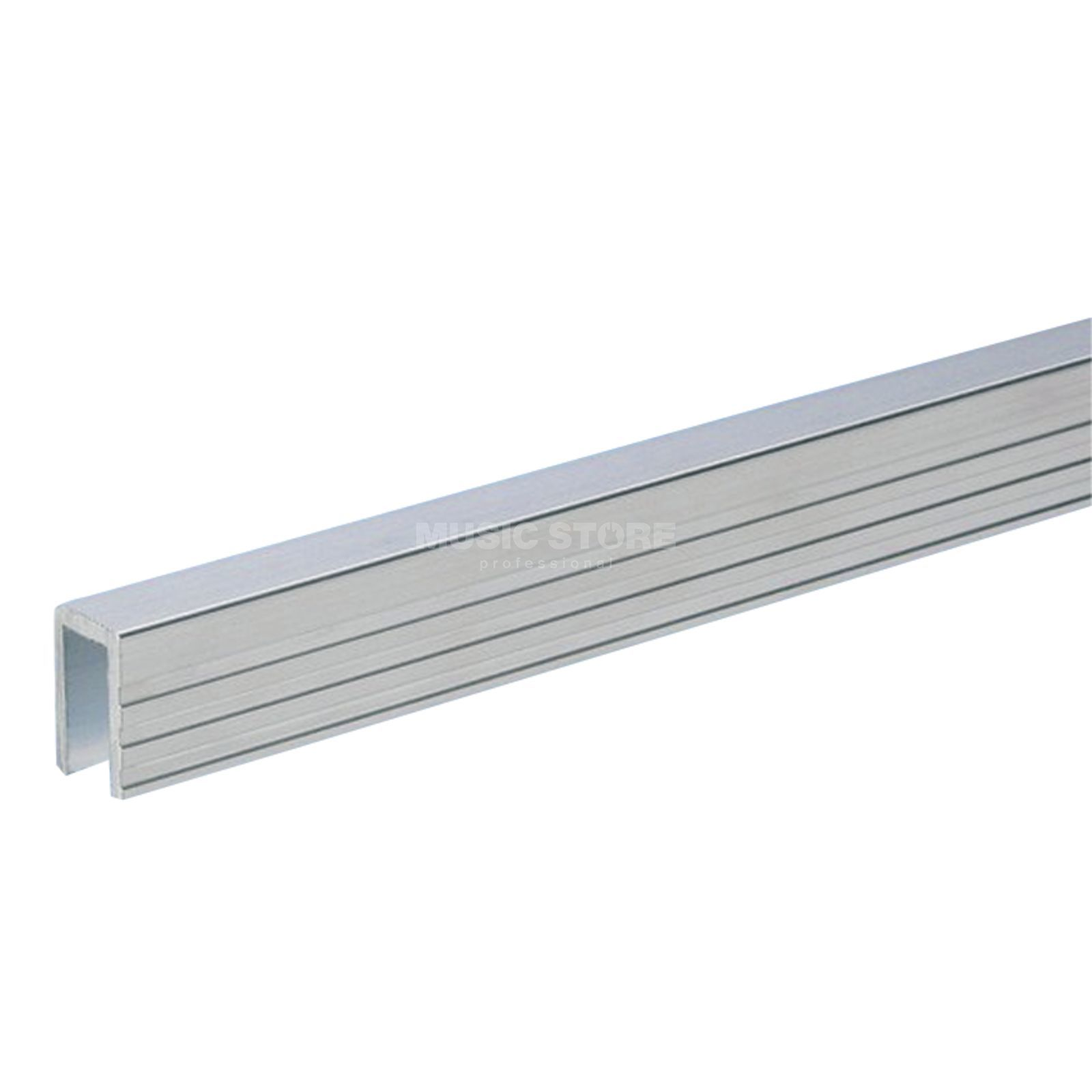 Adam Hall 6200 - Aluminium Capping Channel for 7 mm Dividing Wall Produktbillede