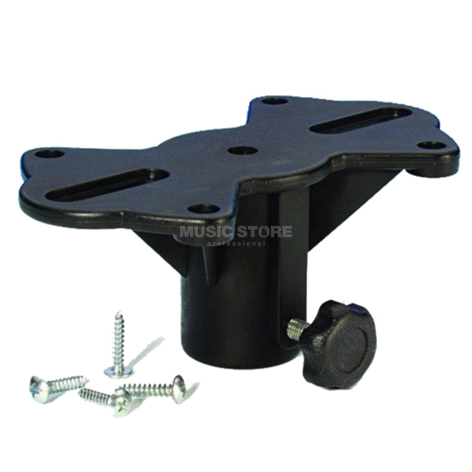 Adam Hall Black Plastic Speaker Flange  Produktbillede