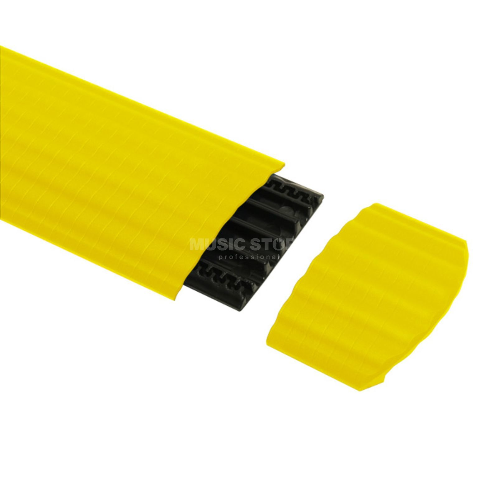 Adam Hall Defender Office EndPiece,Yellow for 85160 CableChannel 4 Channels Produktbillede