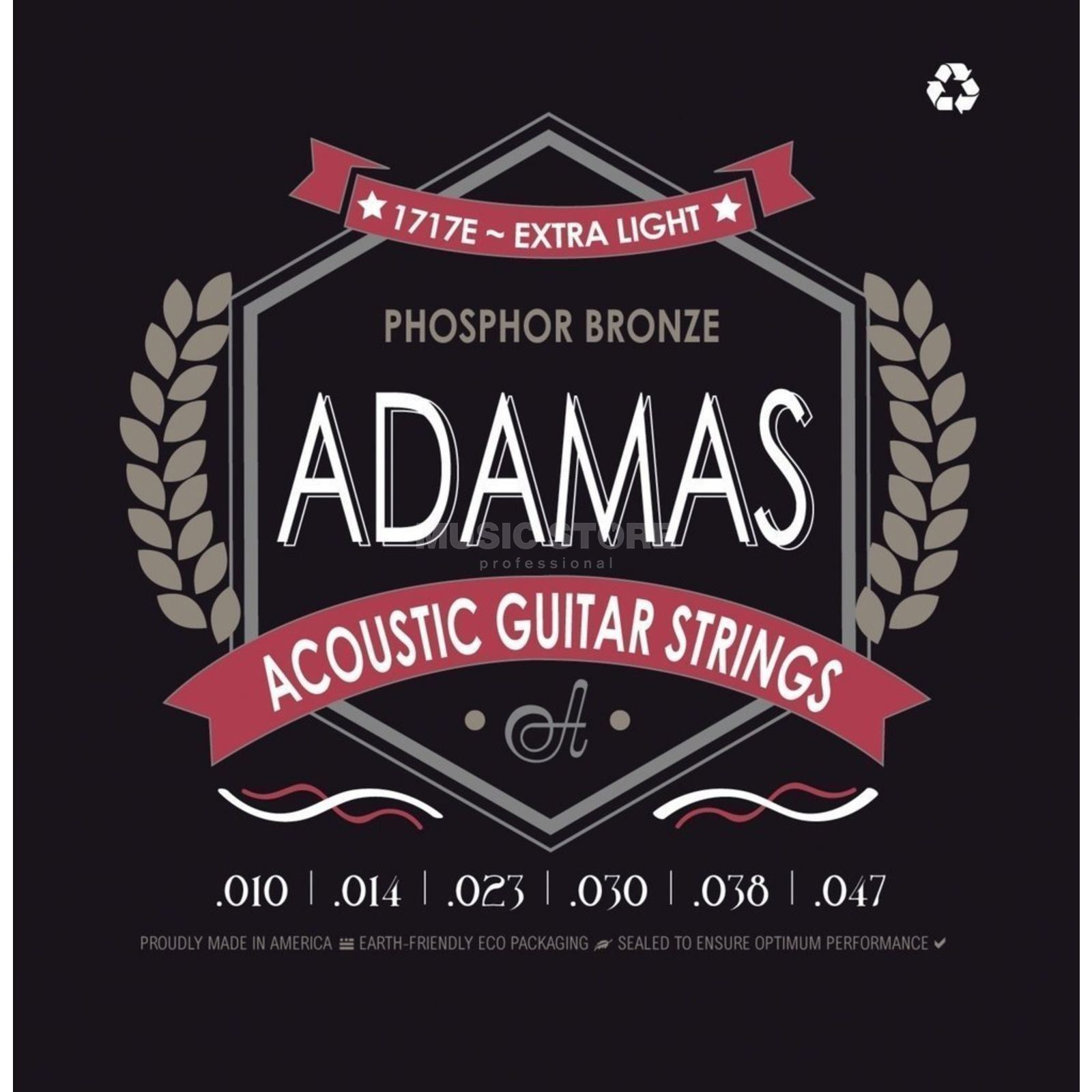 Adamas 1717E 10-47 Acoustic Phosphor Bronze Product Image