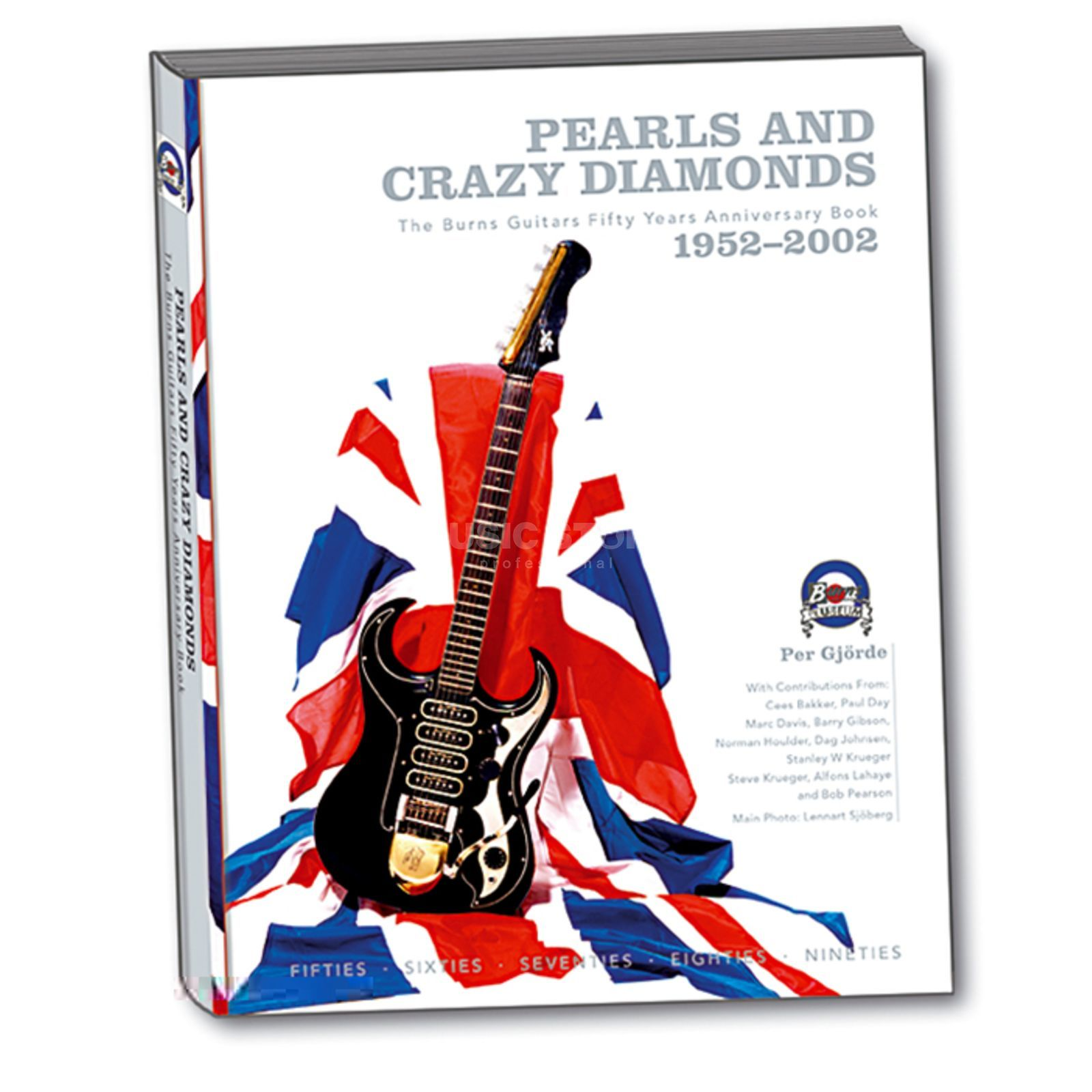 Addit Pearls and Crazy Diamonds The Burns Guitars 1952-2002 Produktbillede
