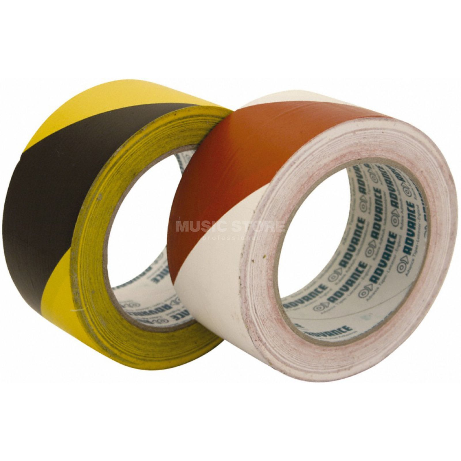 Advance AT 8 Floor Marking Tape red/white, 33m, 50mm Produktbillede