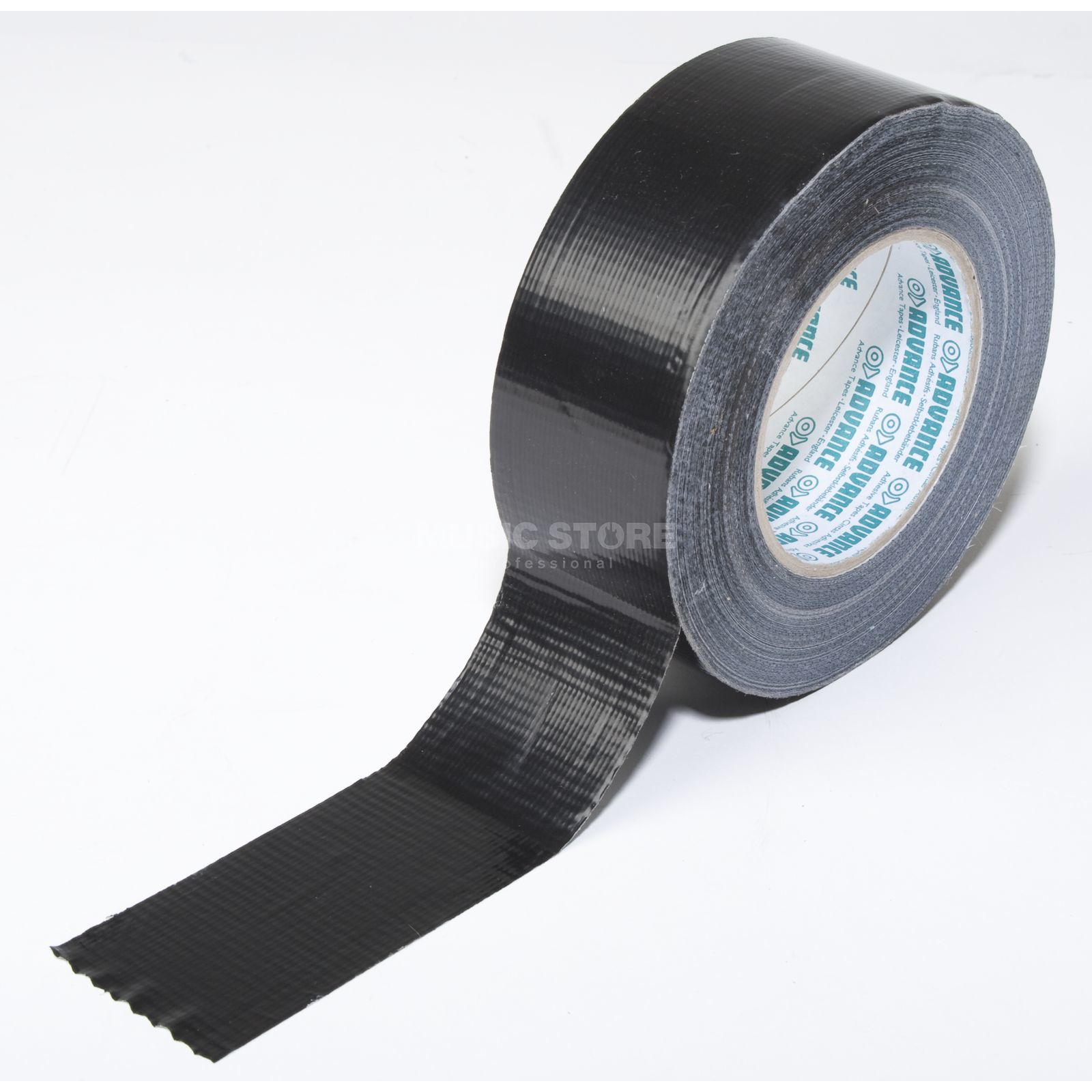 Advance AT165 Gaffa Tape black 50 m / 50 mm wide Produktbillede