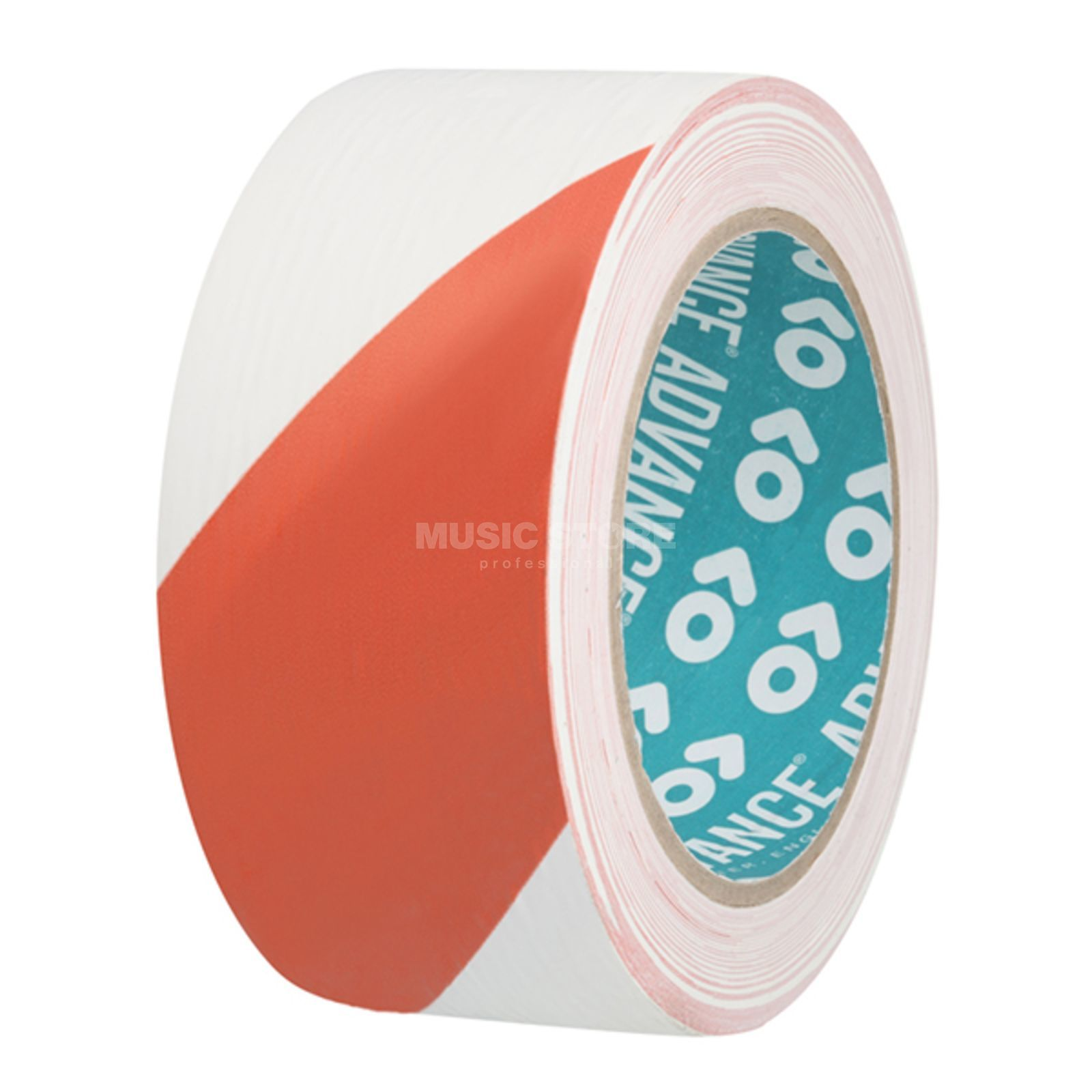 Advance AT8H Hazard Warning Tape red/white, 33m, 50mm Produktbillede