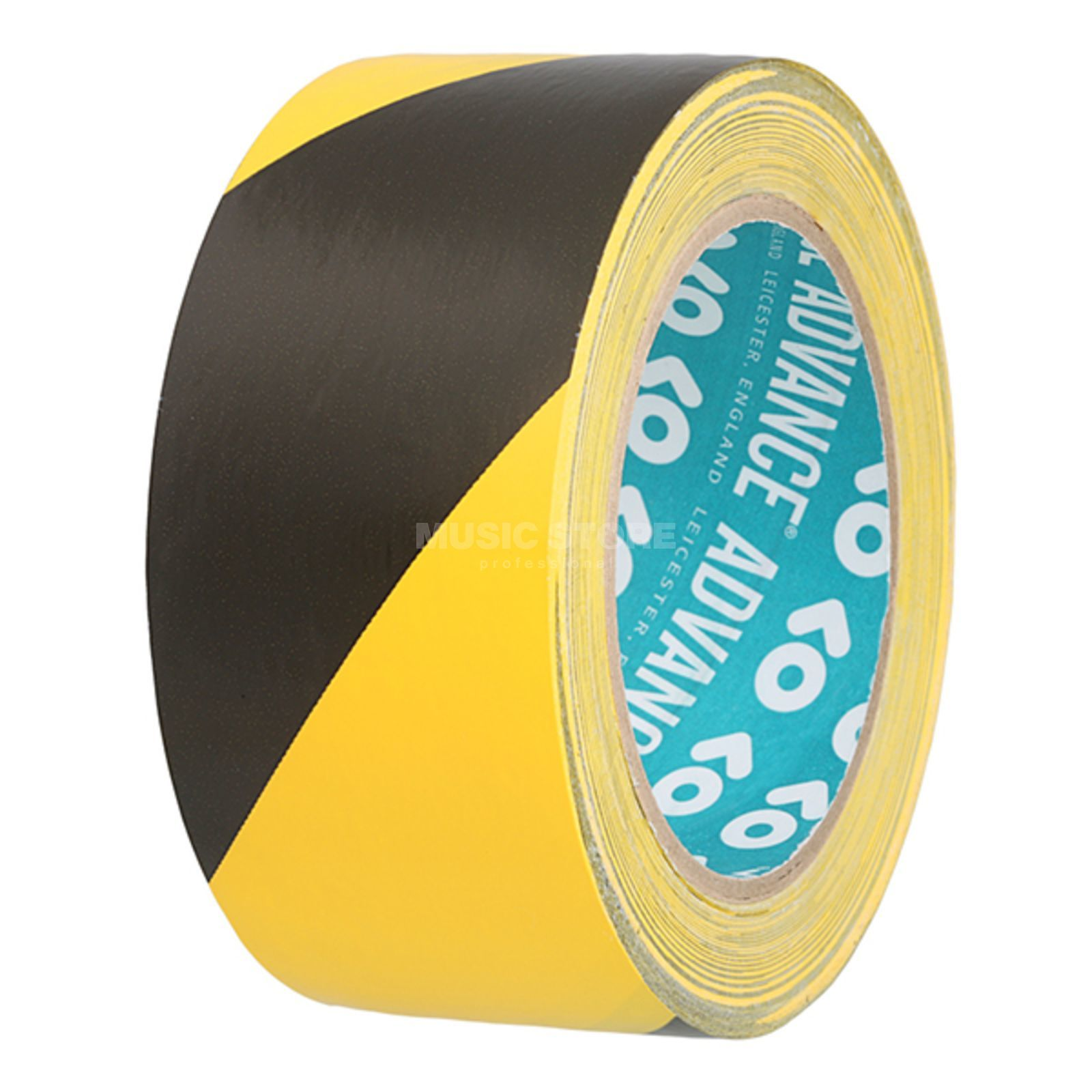 Advance AT8H Hazard Warning Tape yellow/black, 33m, 50mm Produktbillede