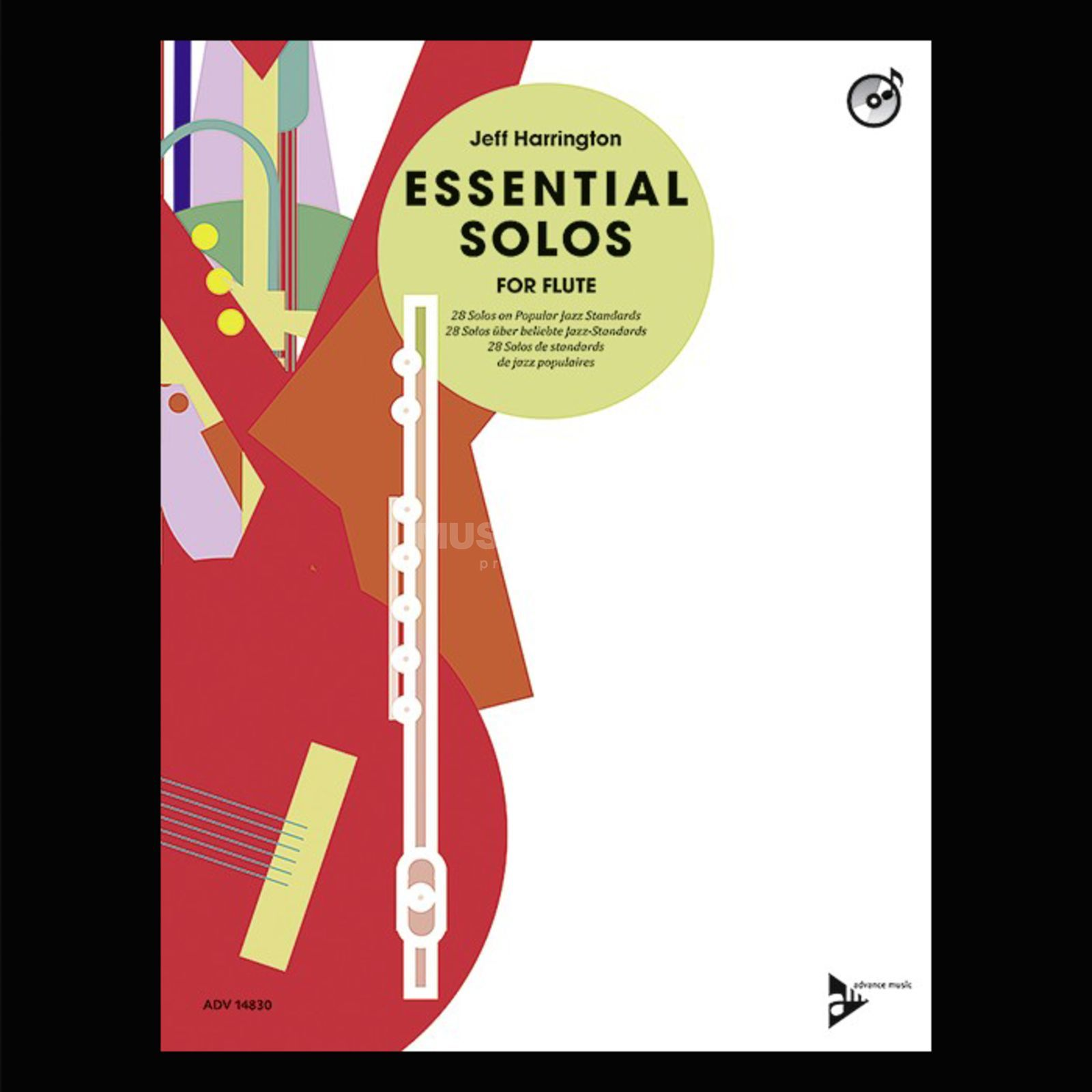 Advance Music Essential Solos for Flute Imagem do produto