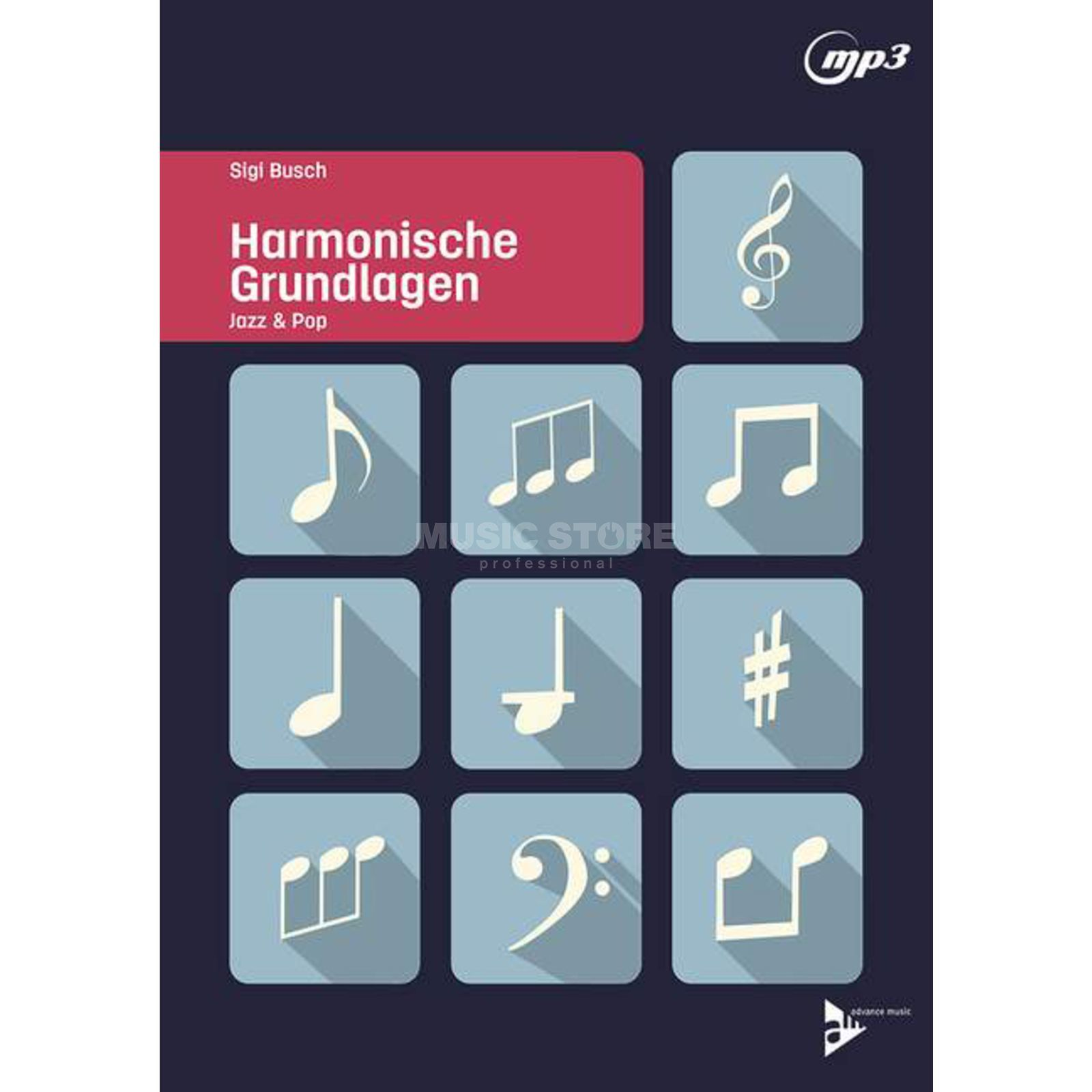 Advance Music Harmonische Grundlagen Jazz & Pop Produktbillede