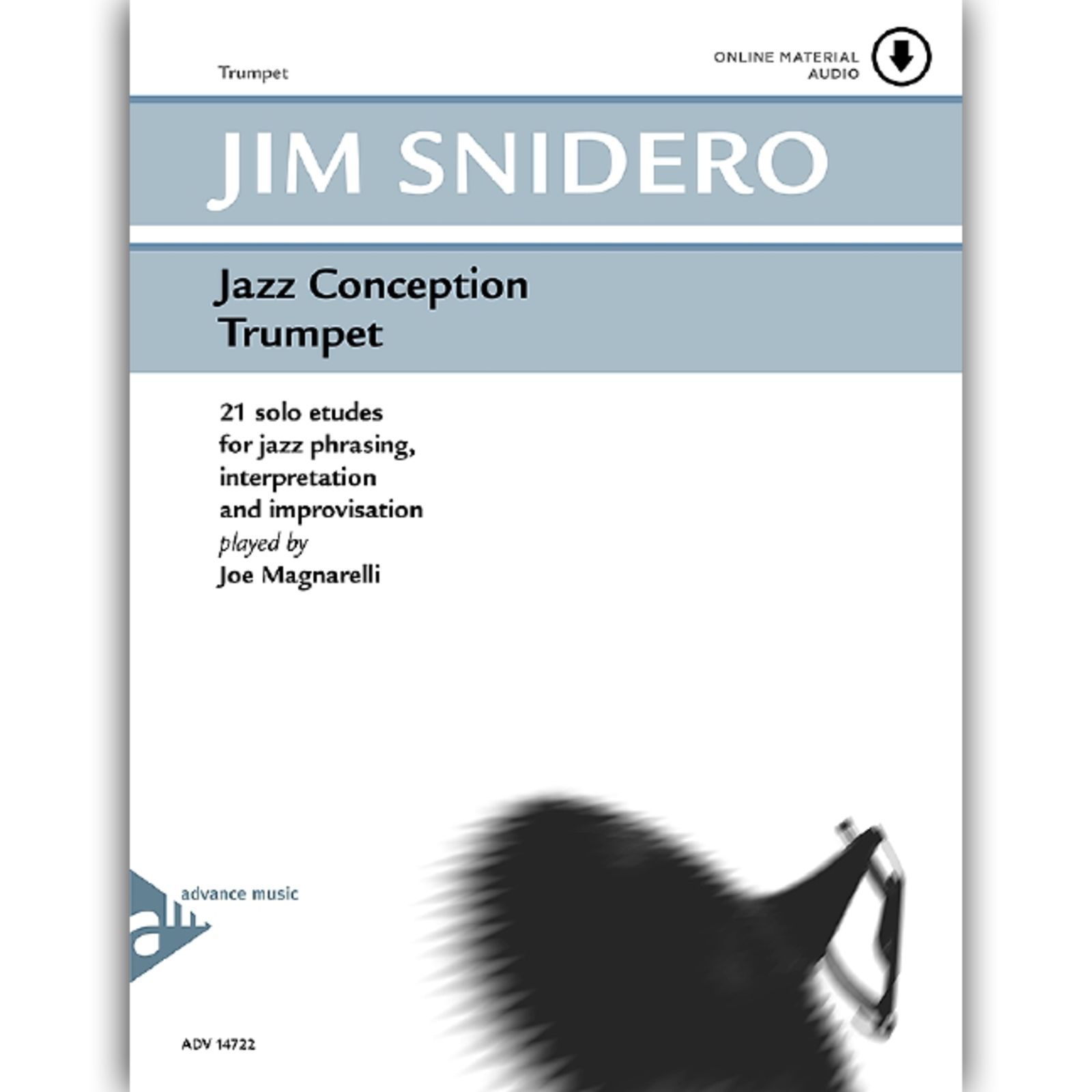 Advance Music Snidero: Jazz Conception Jim Snidero, Trompete & CD Produktbillede