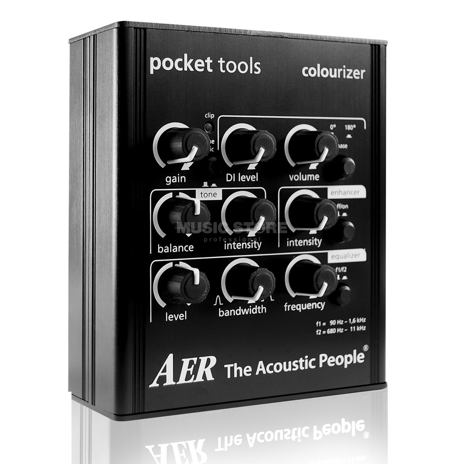 AER Pocket Tools Colourizer Guitar  Preamp   Produktbillede
