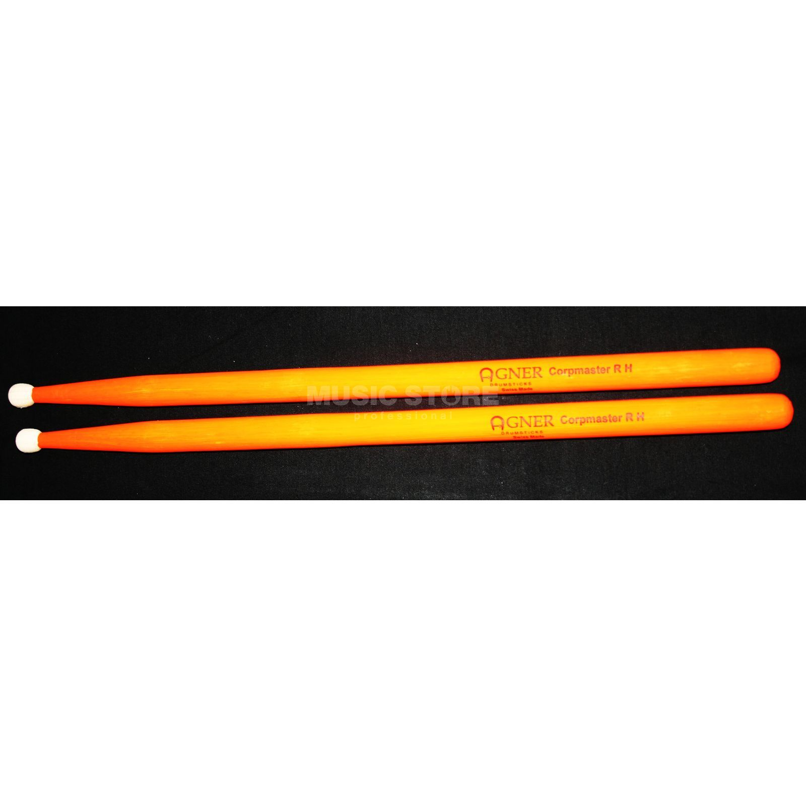 Agner UV-Marching Sticks, 4A, Corpmaster R H, Orange Produktbillede