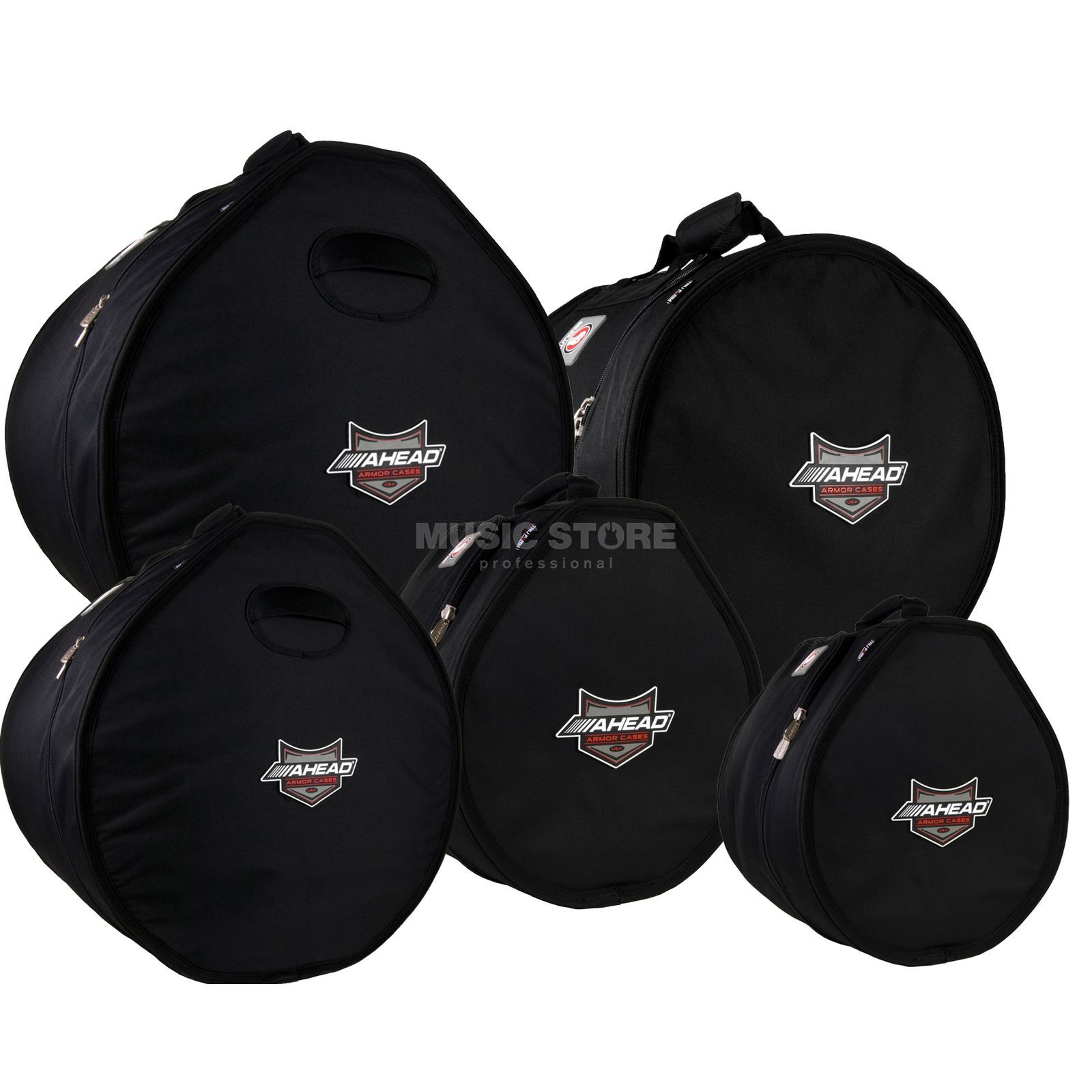 Ahead Armor Cases Drum Bag Set 5, ARSET-5, 22, 10, 12, 14, 16 Produktbild