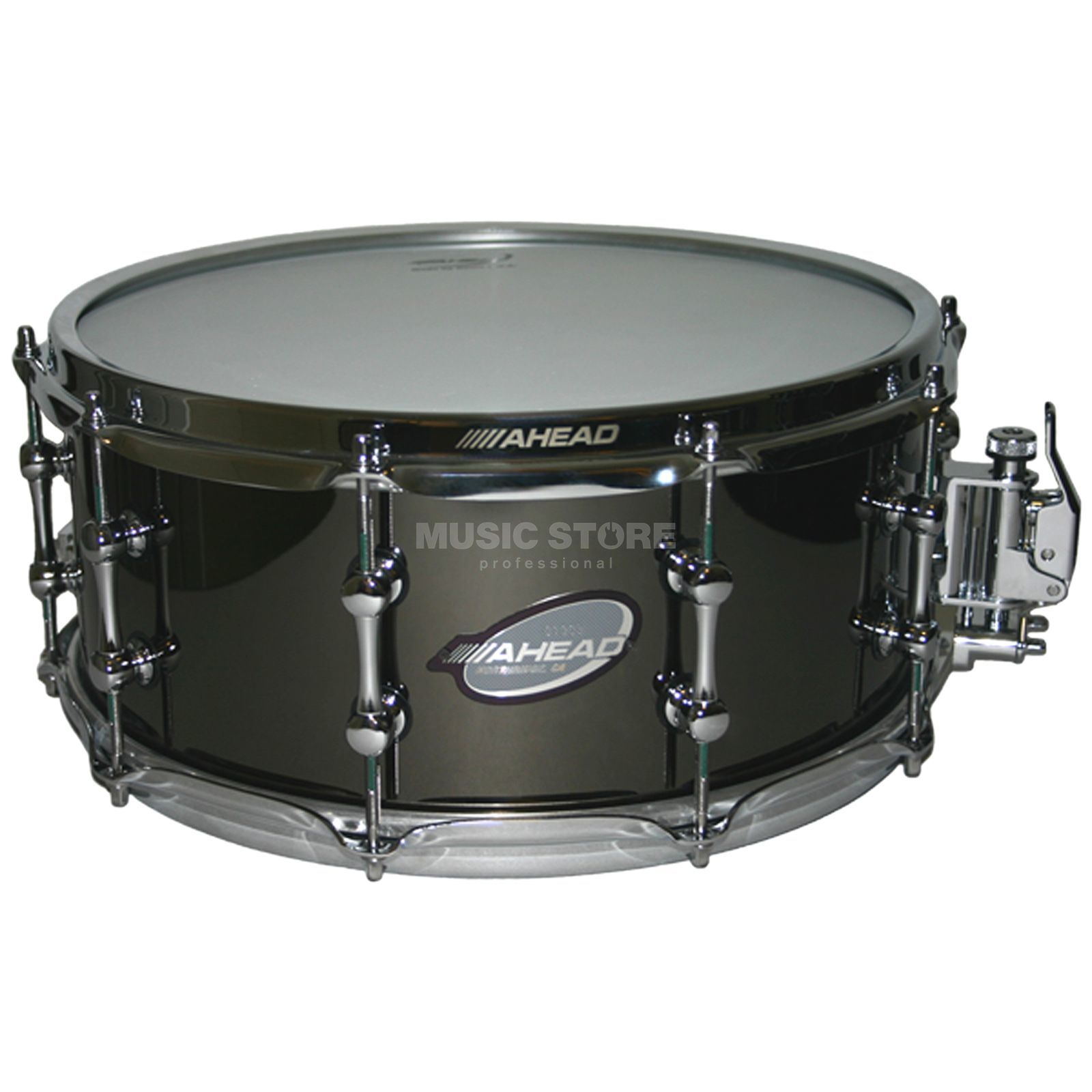 "Ahead Sticks Black on Brass Snare 13""x6"", AS614 Produktbillede"