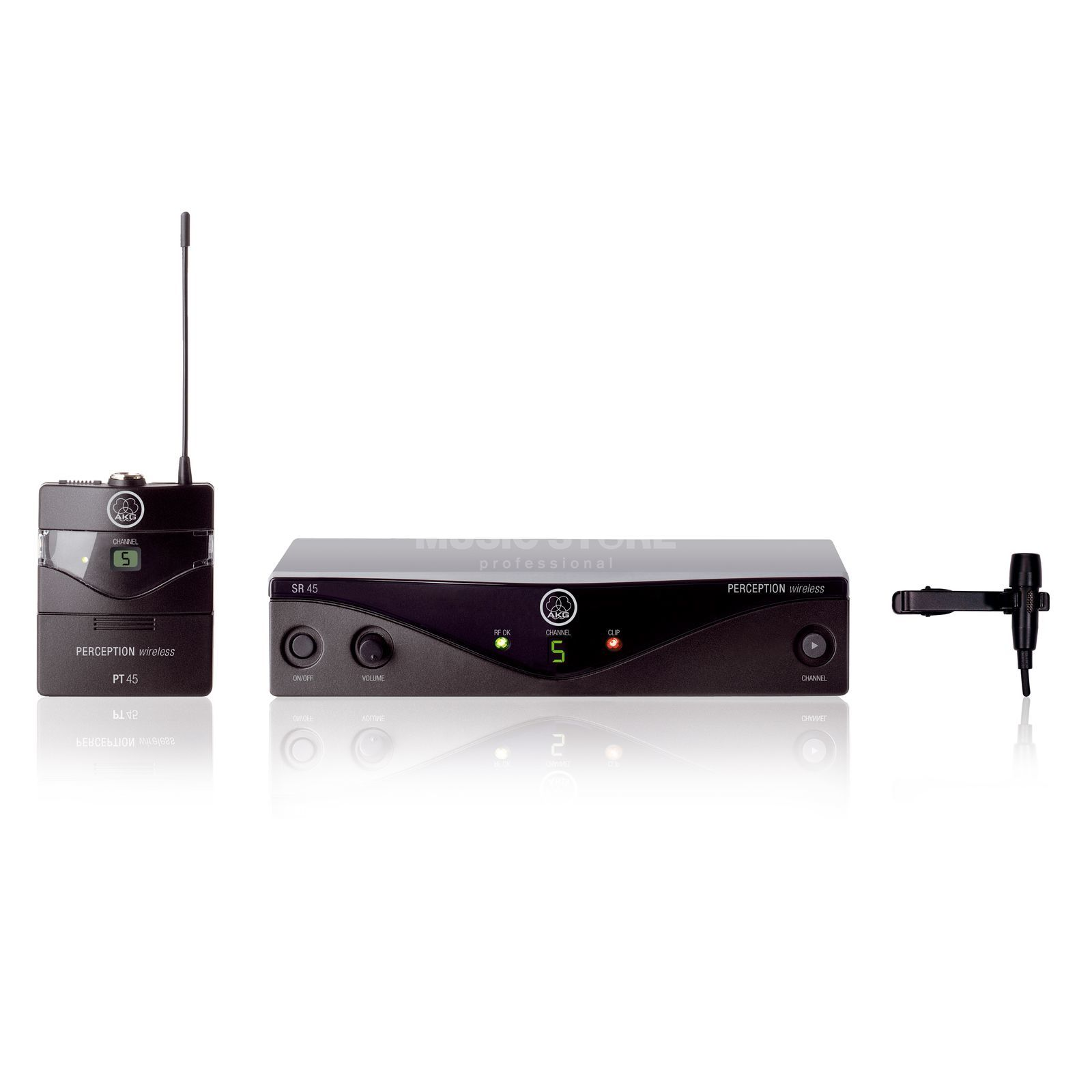 AKG PW 45 Presenter Set M 823,100 - 831,900 MHz Produktbild