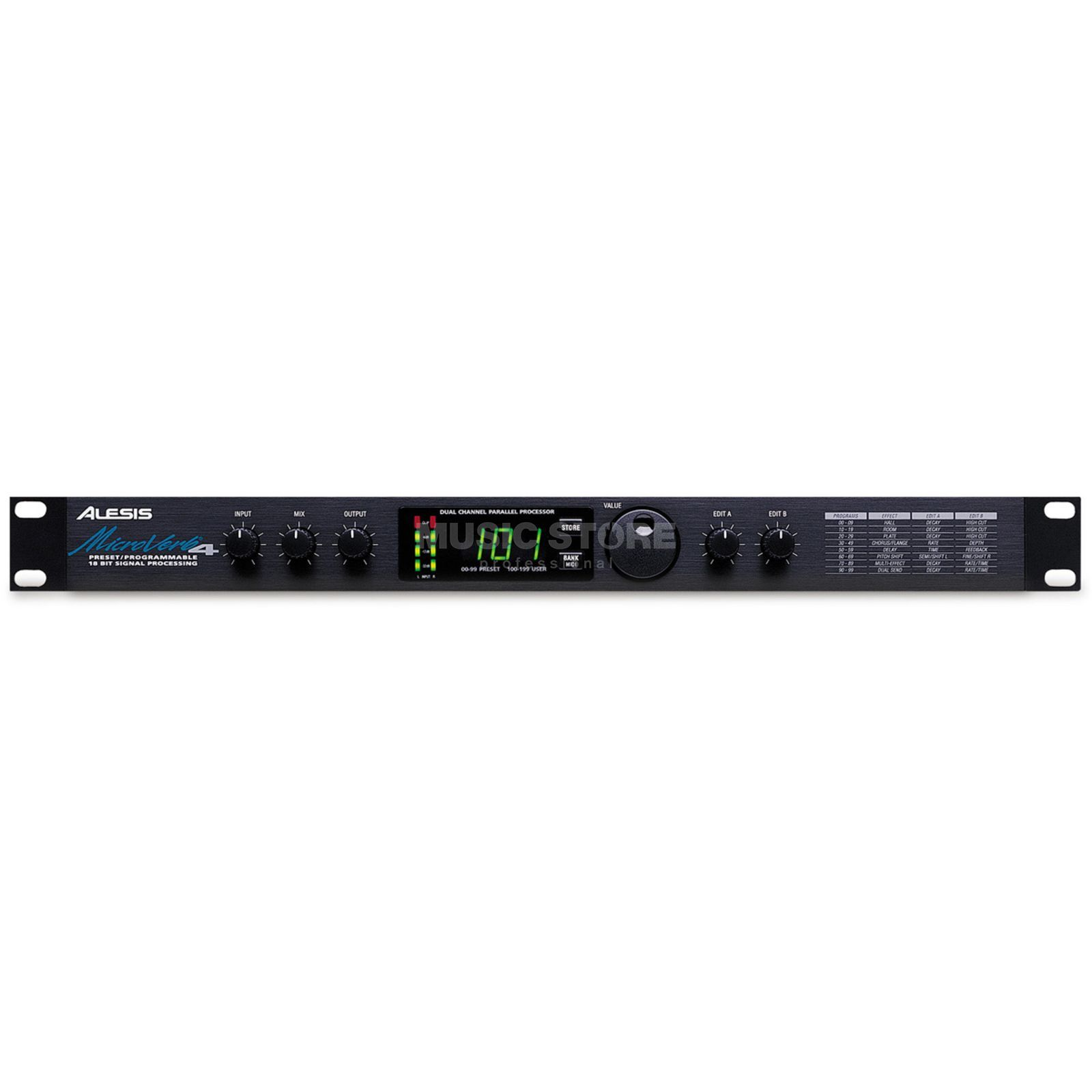 Alesis Microverb 4 Digital Effects Processor Produktbillede