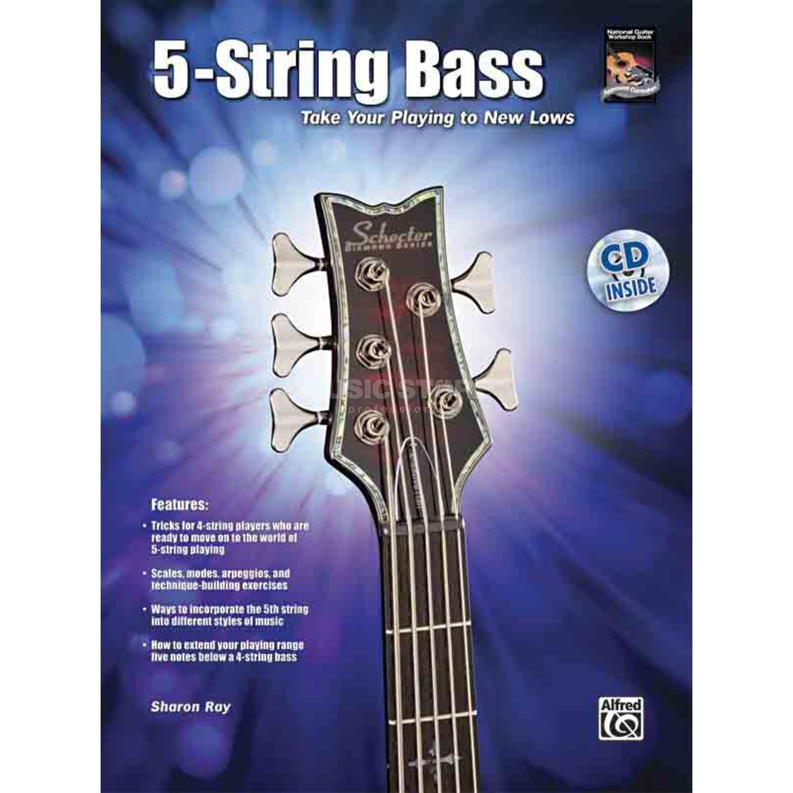 Alfred Music 5-String Bass Sharon Ray incl. CD Produktbillede