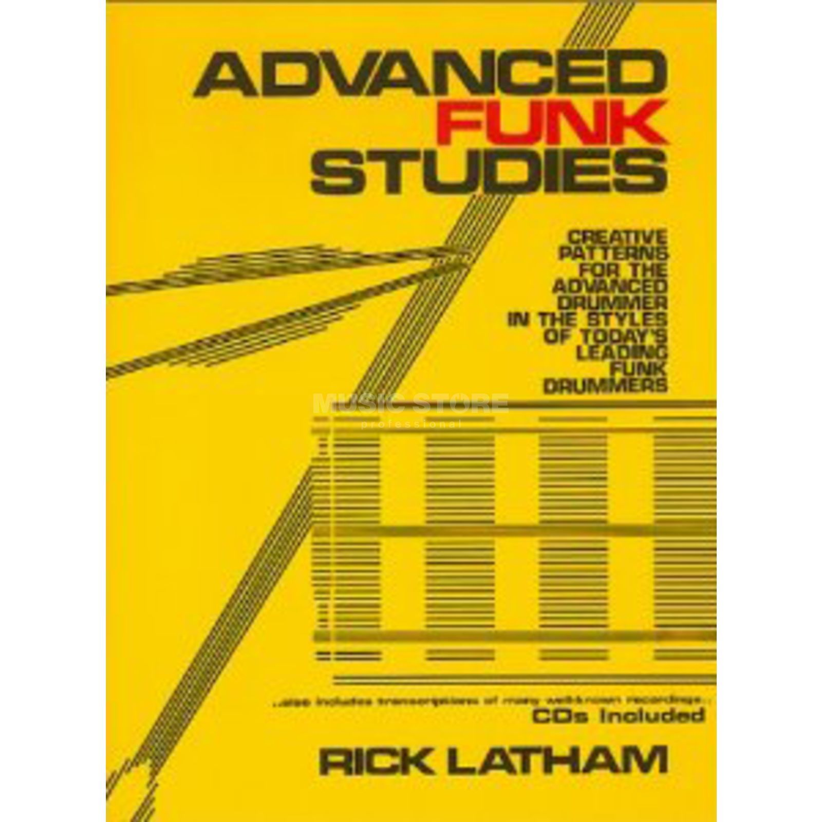 Alfred Music Advanced Funk Studies Rick Latham, Drums inkl. 2CDs Produktbild
