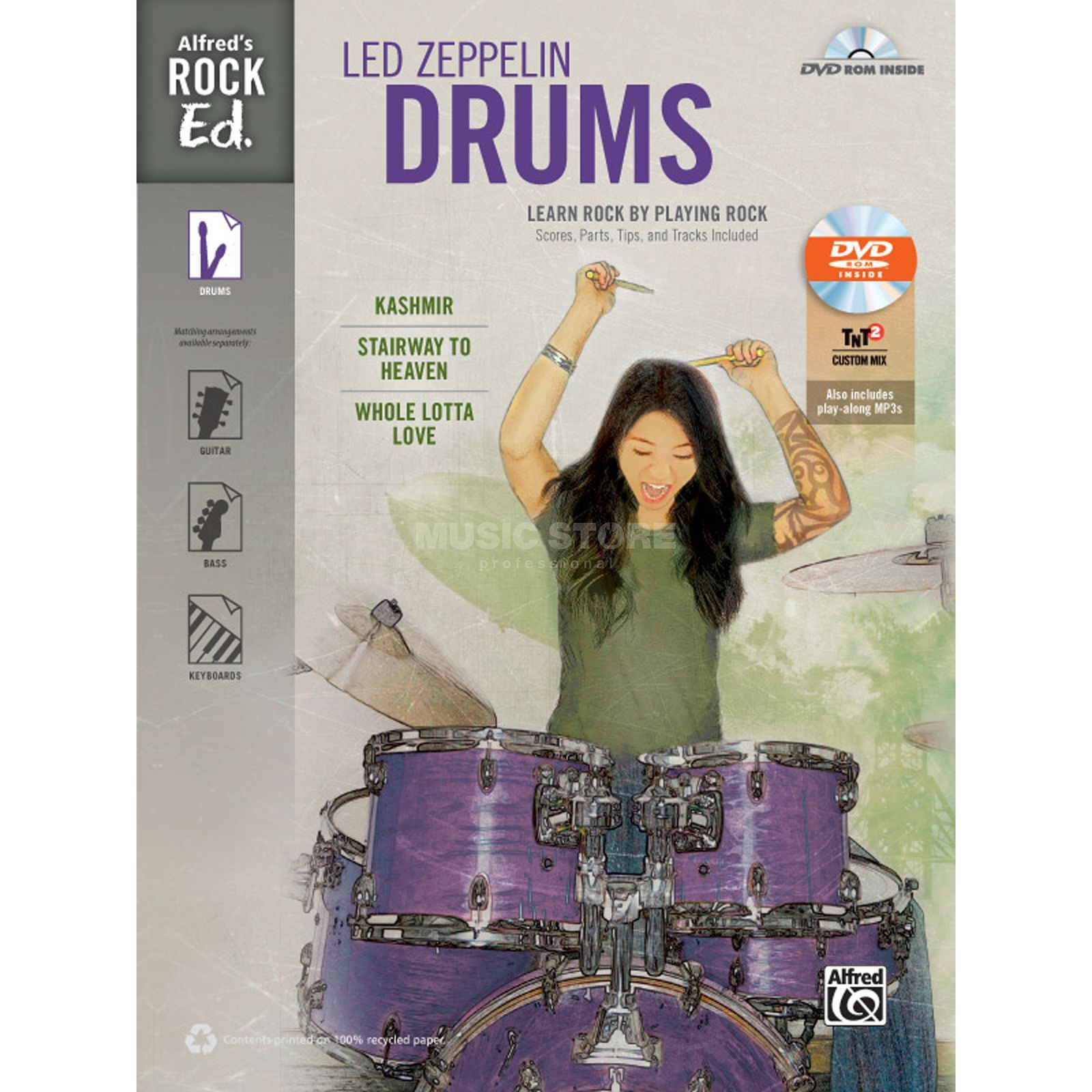 Alfred Music Alfred's Rock Ed.: Led Zeppelin Drums Produktbild