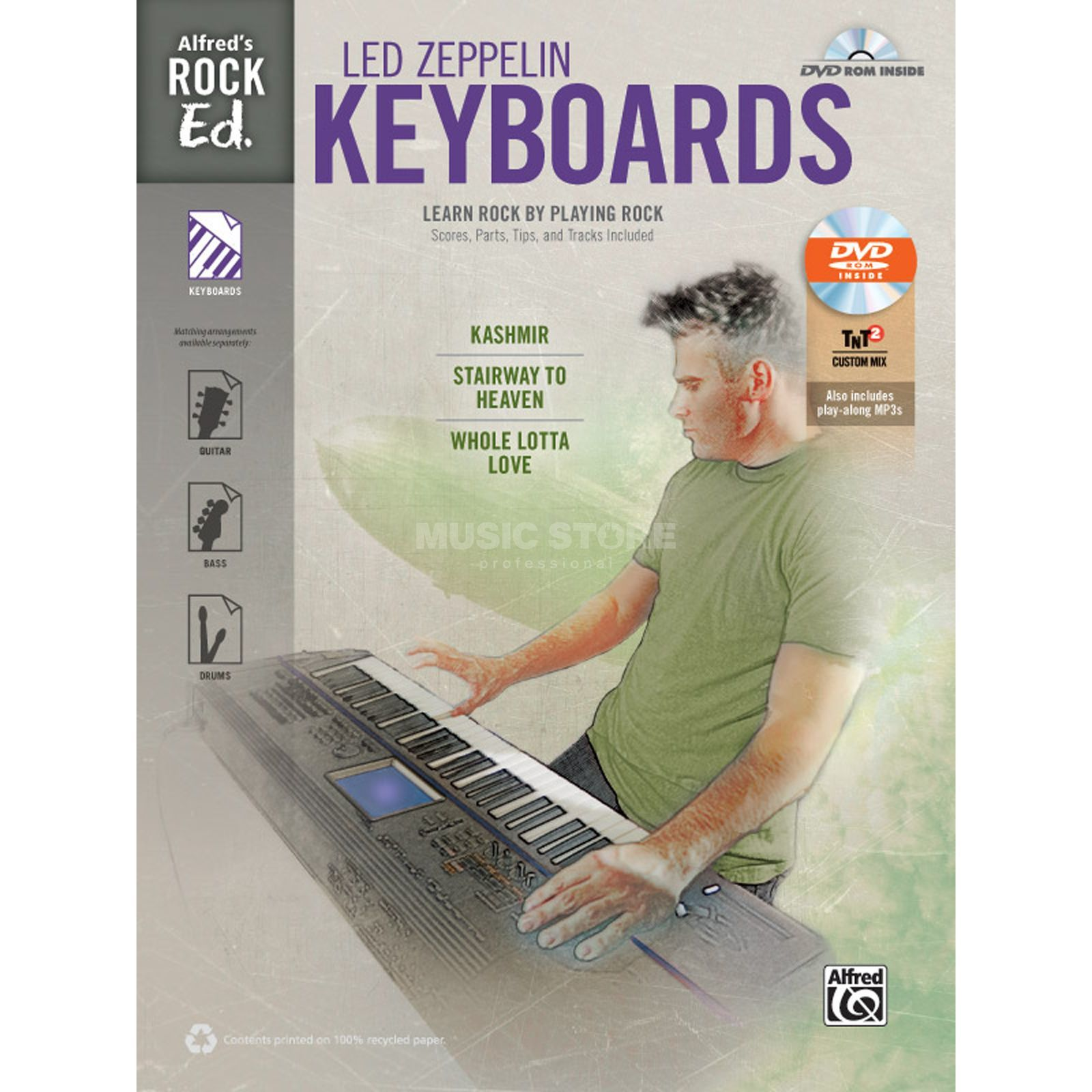 Alfred Music Alfred's Rock Ed.: Led Zeppelin Keyboards Produktbillede