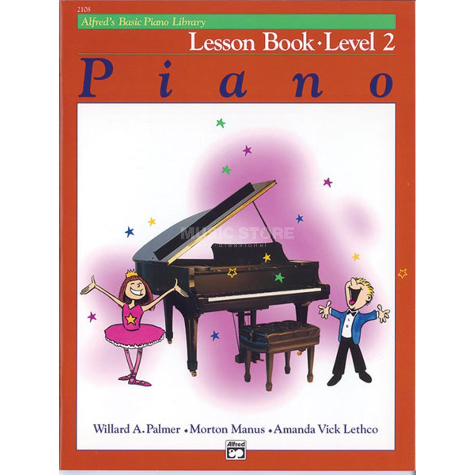 Alfred Music Basic Piano Lesson Book 2 Piano Solo Produktbild
