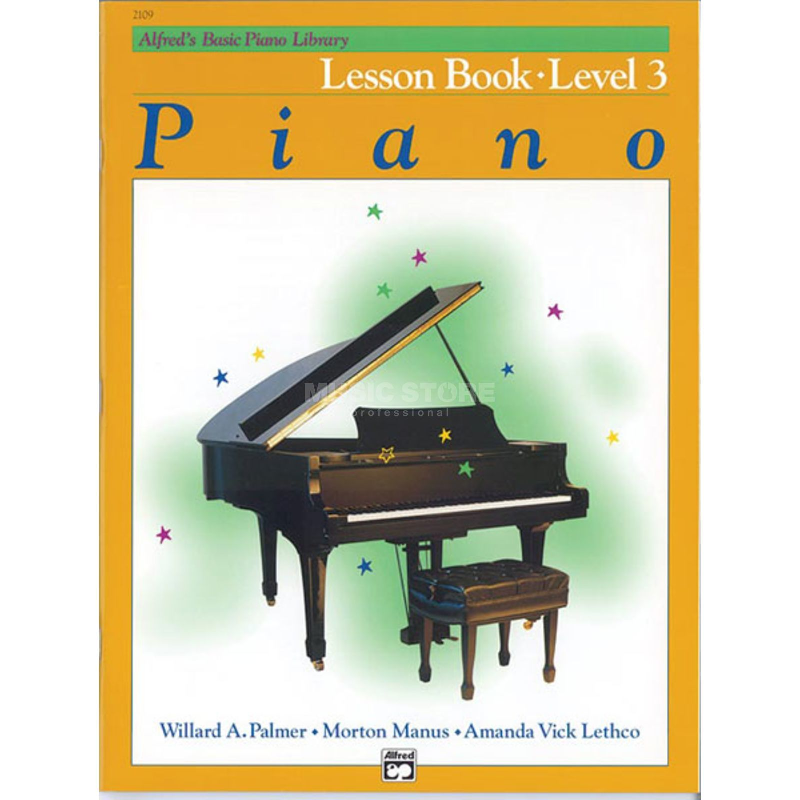 Alfred Music Basic Piano Lesson Book 3 Piano Solo Produktbillede