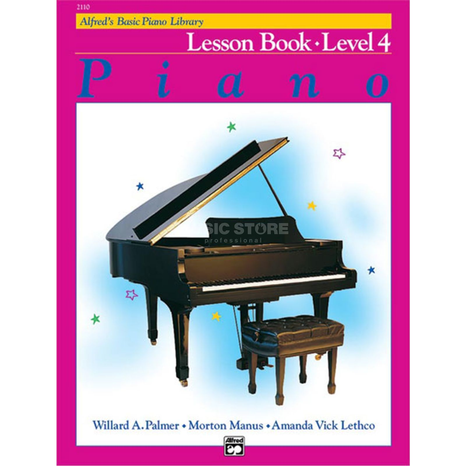 Alfred Music Basic Piano Lesson Book 4 Piano Solo Produktbild