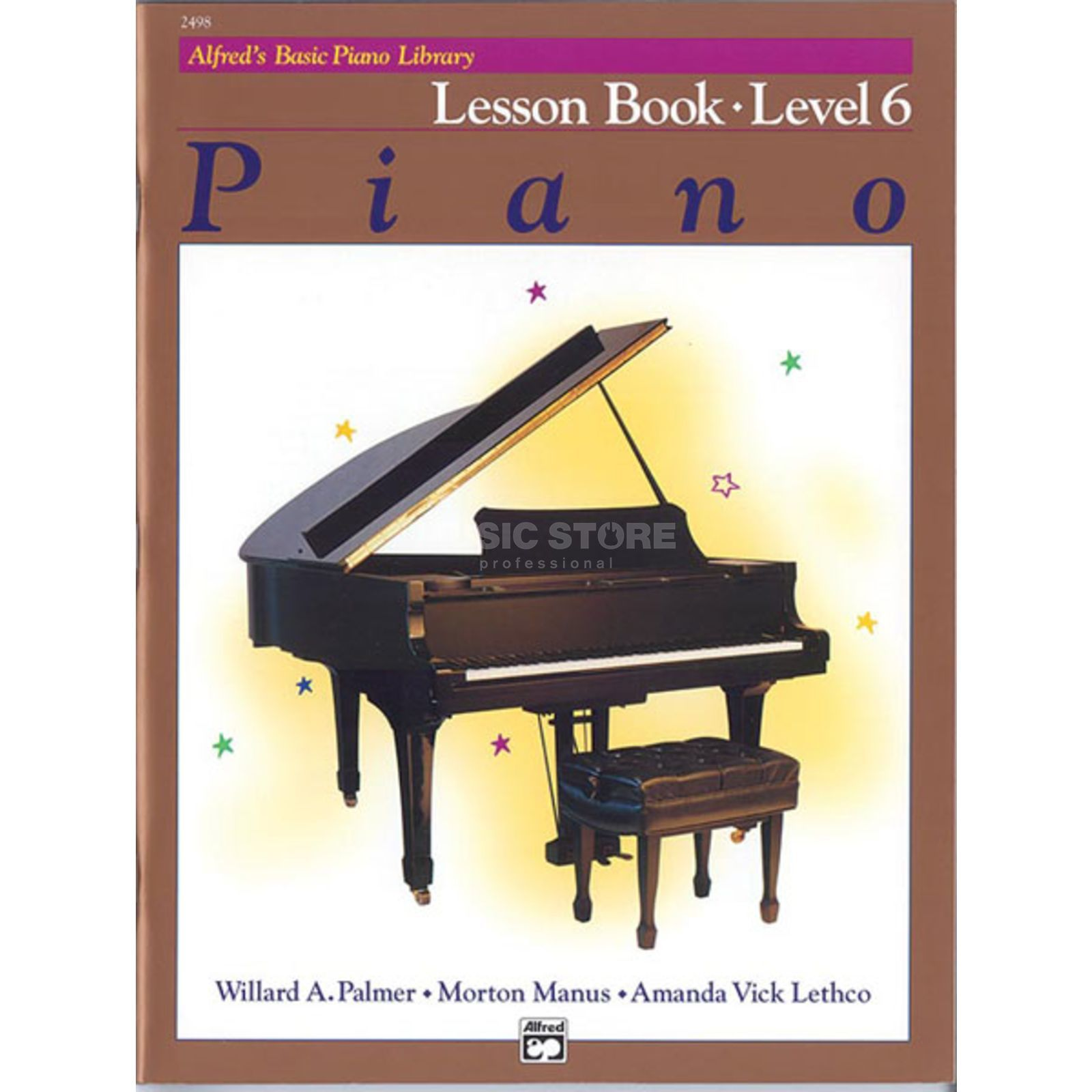 Alfred Music Basic Piano Lesson Book 6 Piano Solo Produktbild