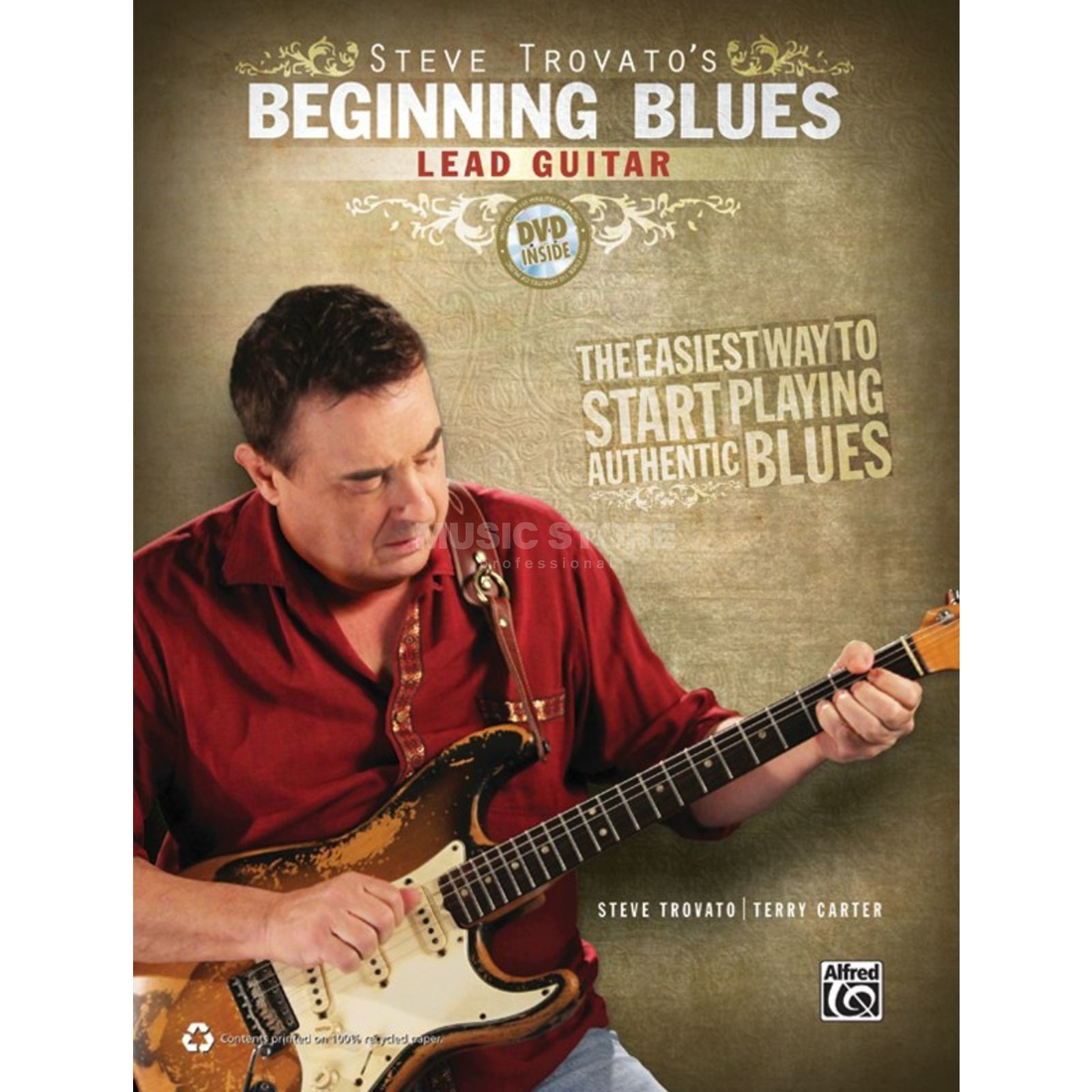 Alfred Music Beginning Blues Lead Guitar Steve Trovato inkl. DVD Produktbild