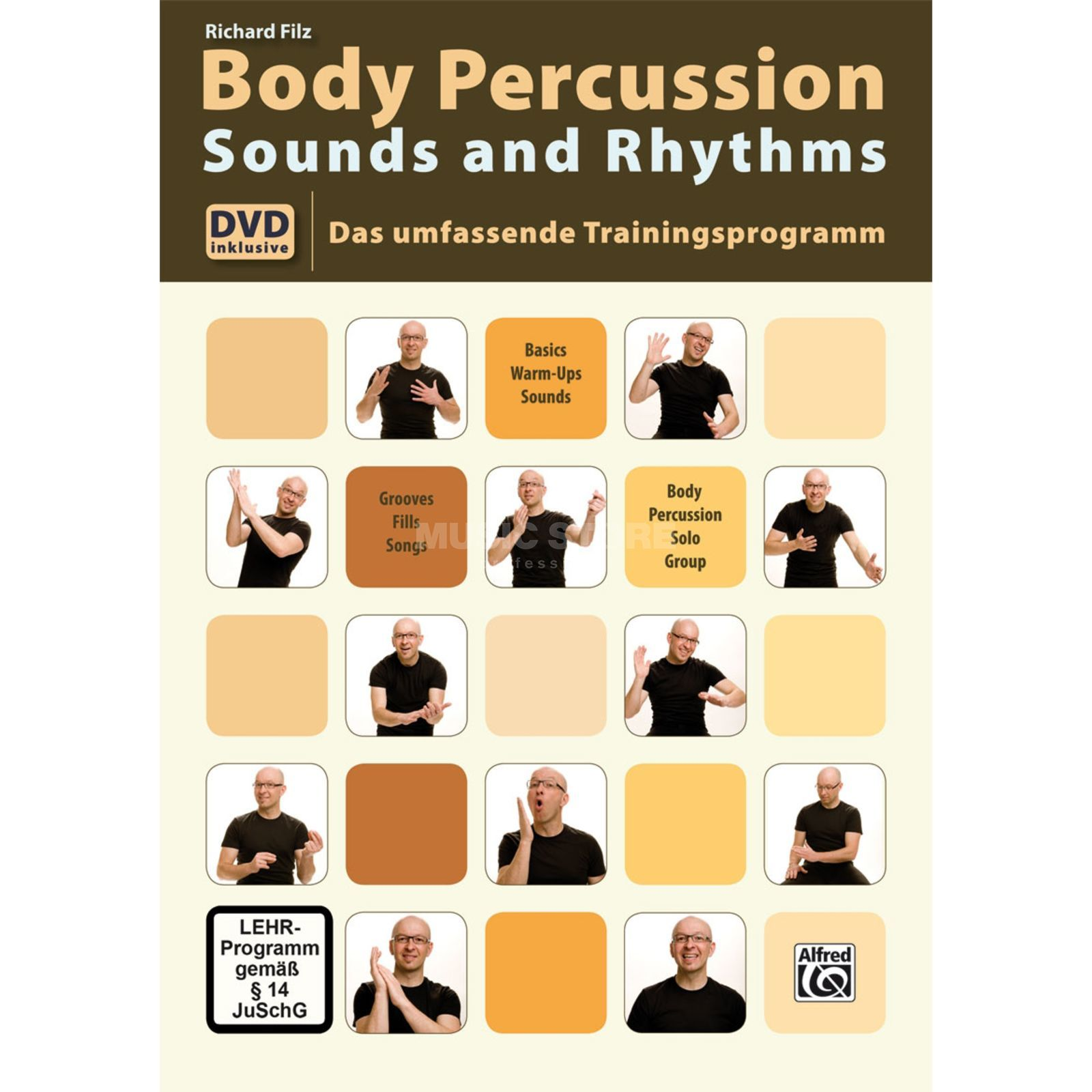 Alfred Music Body Percussion Filz inkl. DVD Produktbild