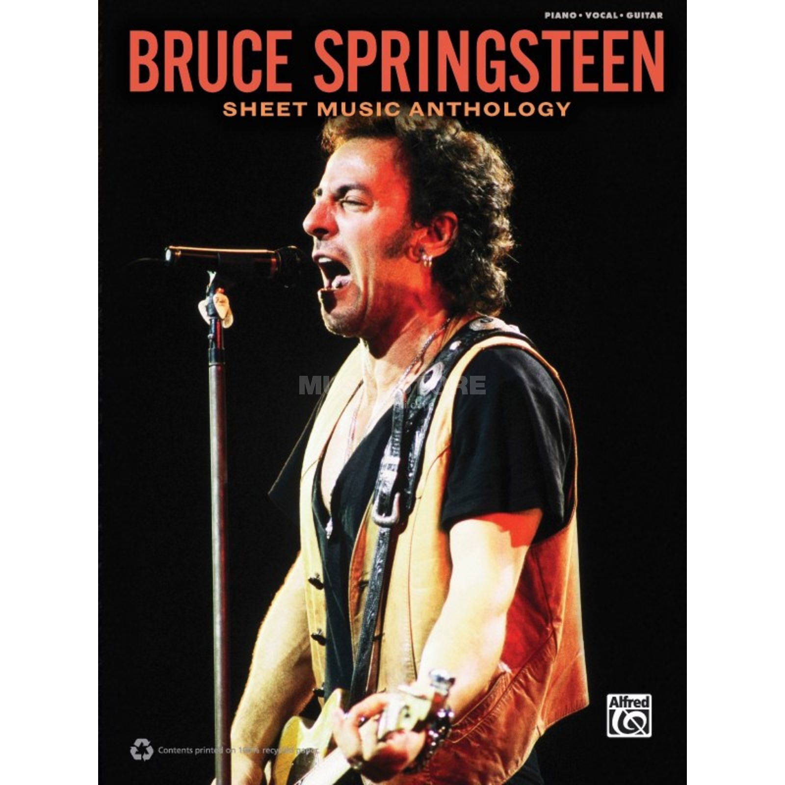 Alfred Music Bruce Springsteen: Sheet Music Anthology Produktbillede