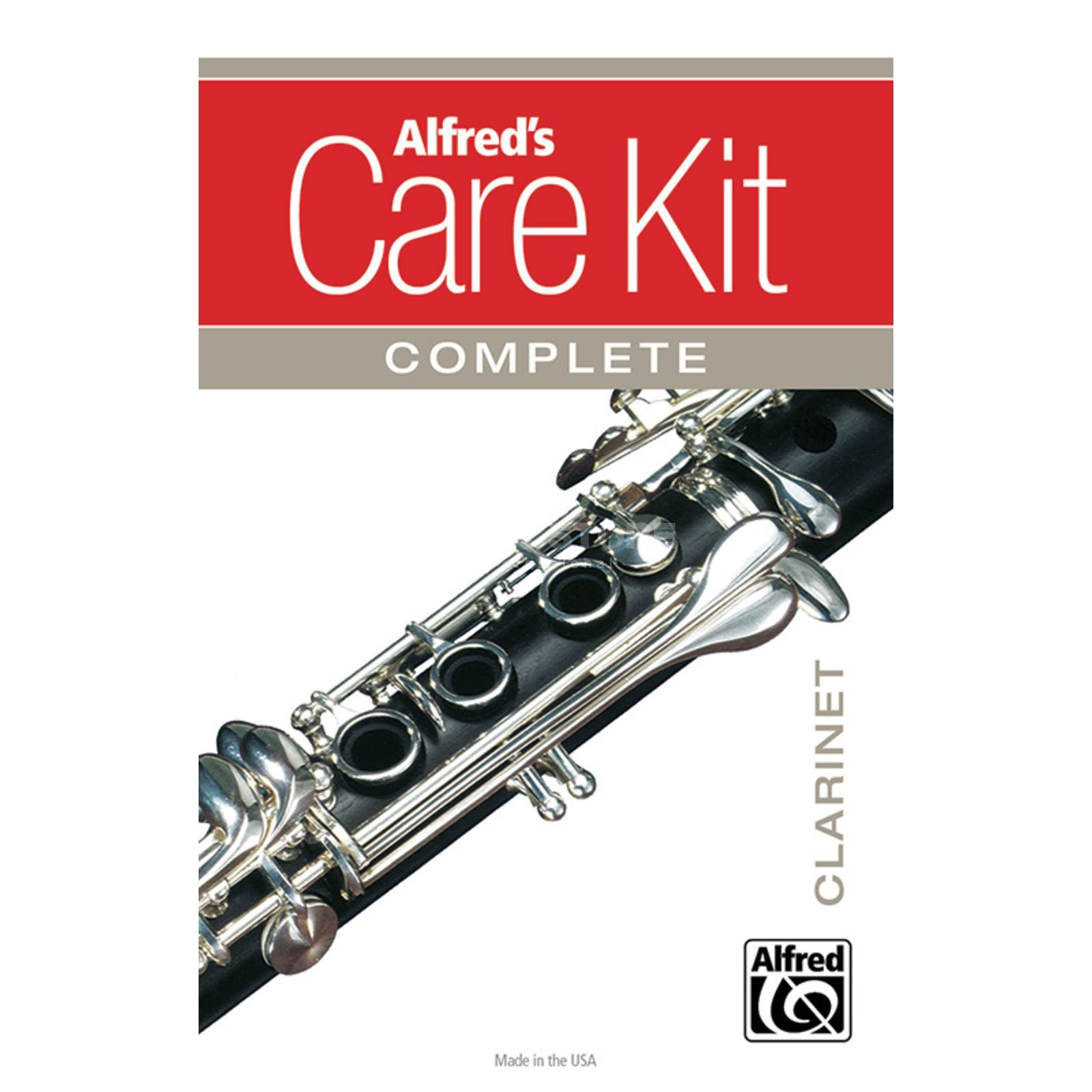 Alfred Music Care Kit Complete: Clarinet  Image du produit