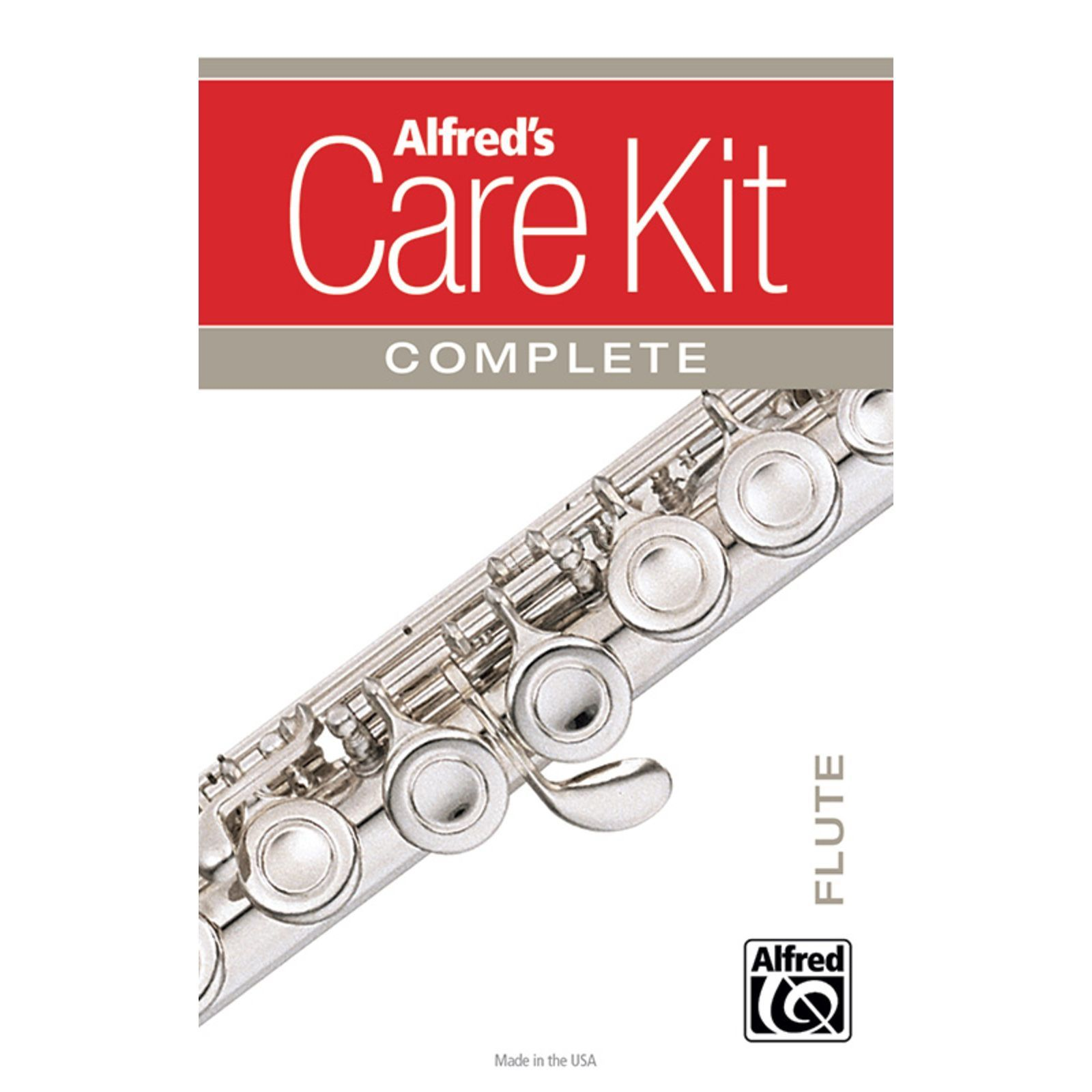 Alfred Music Care Kit Complete: Flute  Изображение товара