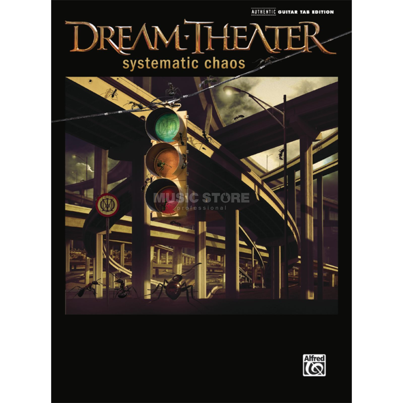 Alfred Music Dream Theater - Systematic Chaos TAB Produktbild