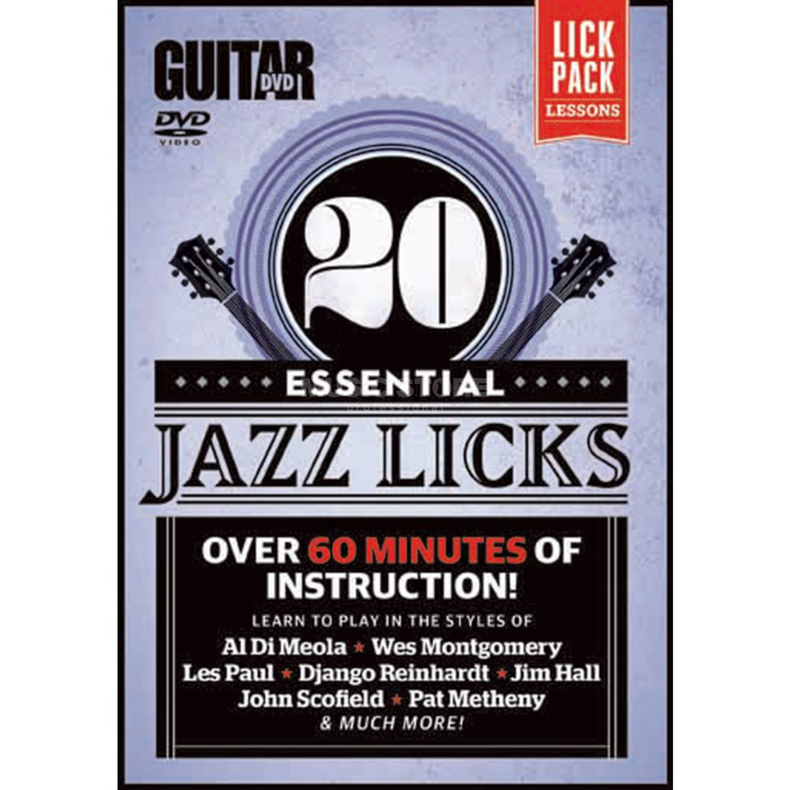 Alfred Music Essential Jazz Licks DVD Produktbillede