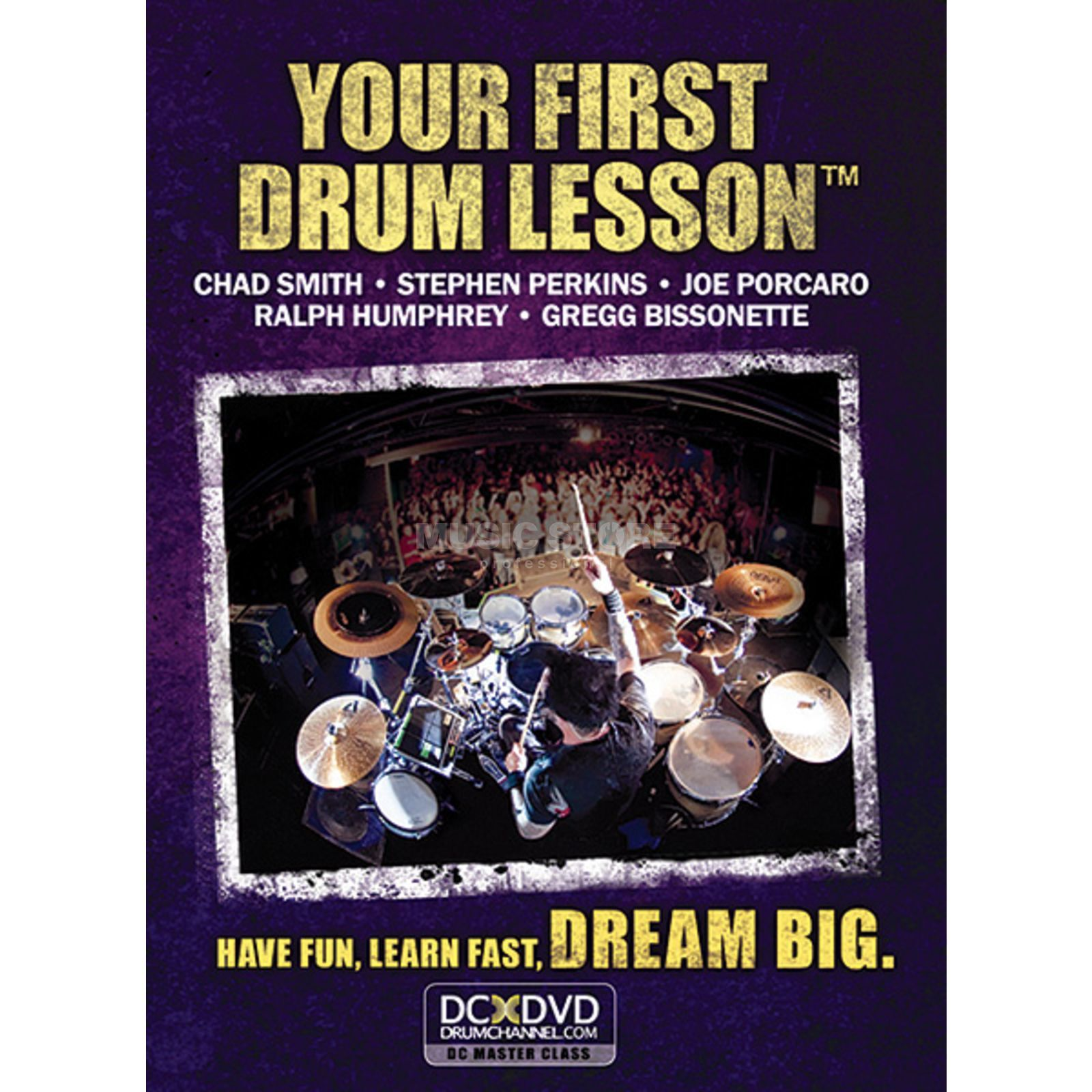 Alfred Music First Drum Lesson DVD Produktbillede