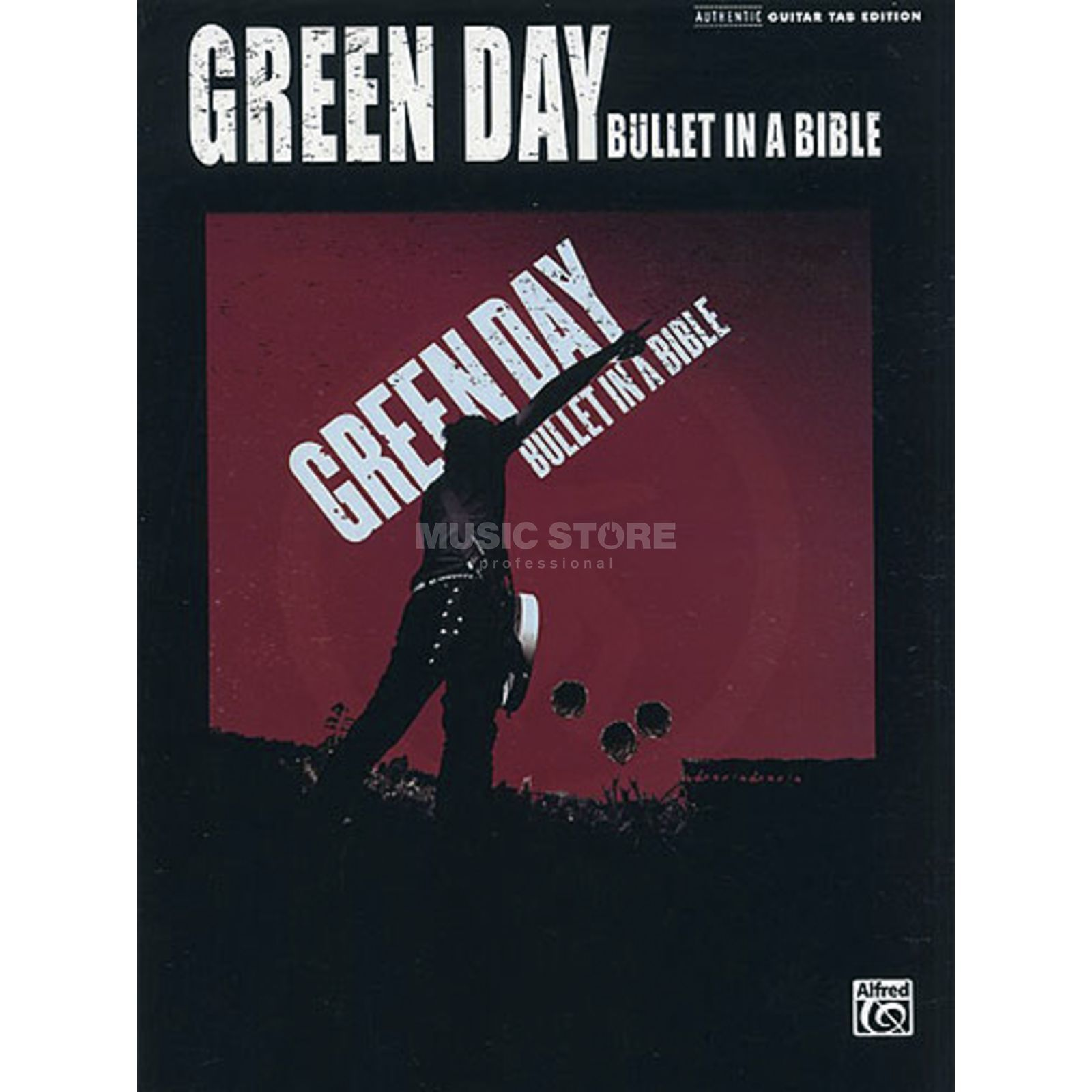 Alfred Music Green Day - Bullet in a Bible TAB Produktbild