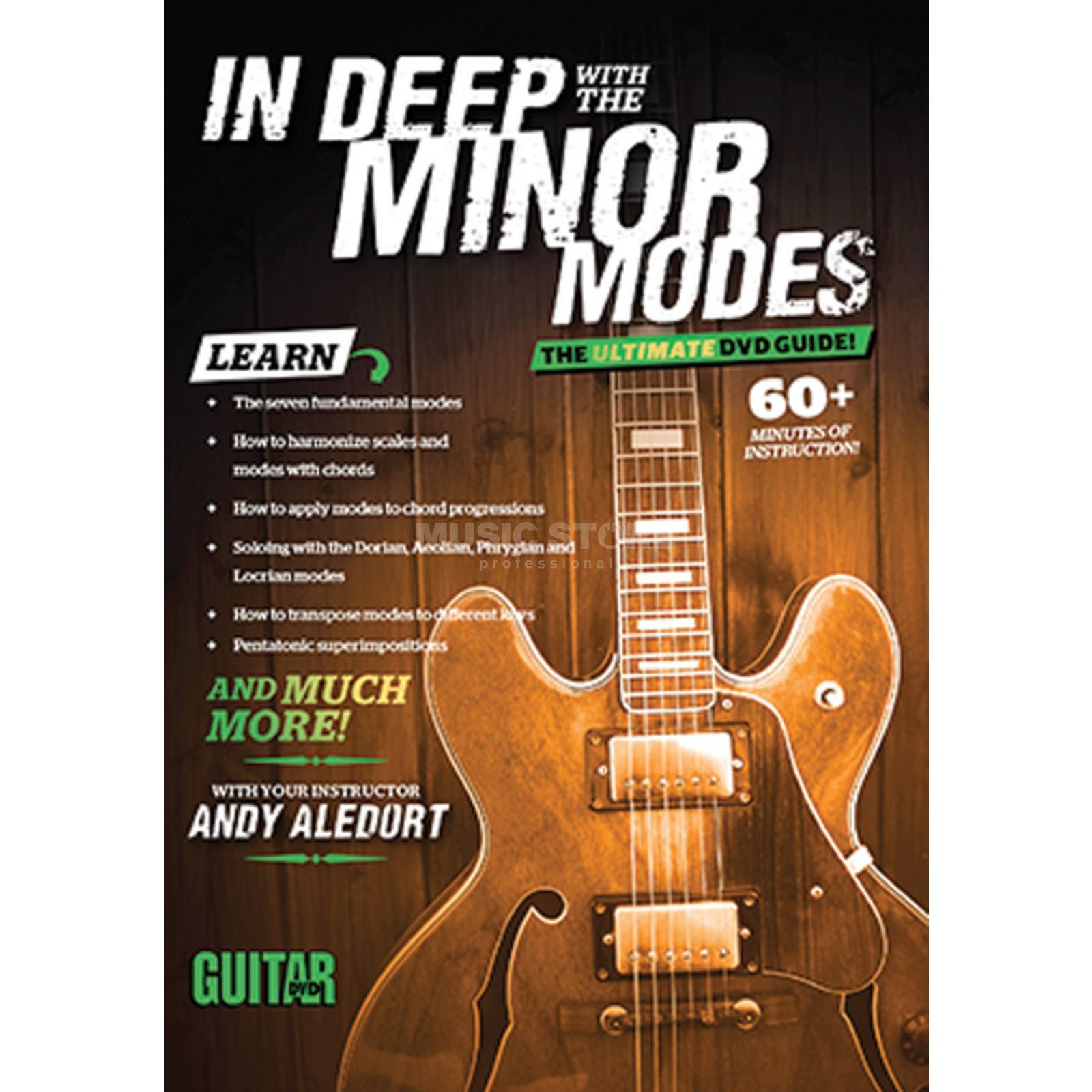 Alfred Music Guitar World: In Deep with the Minor Modes Imagem do produto