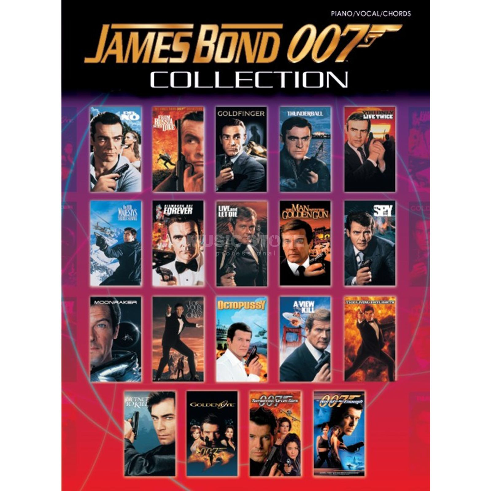 Alfred Music James Bond 007 Collection PVG Produktbild