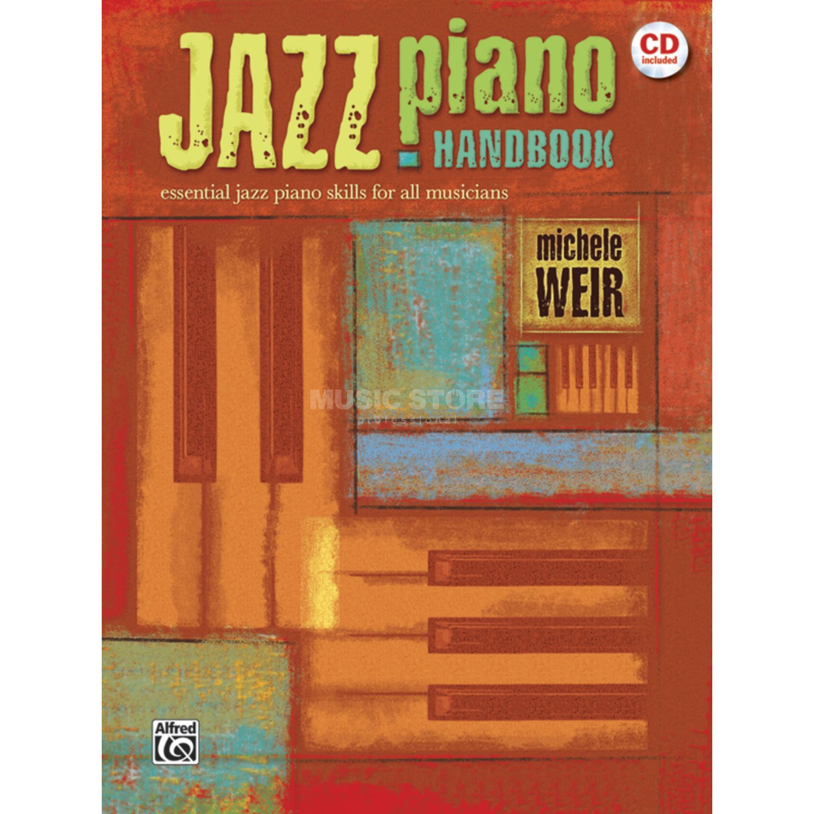 Alfred Music Jazz Piano Handbook Book and CD Produktbillede