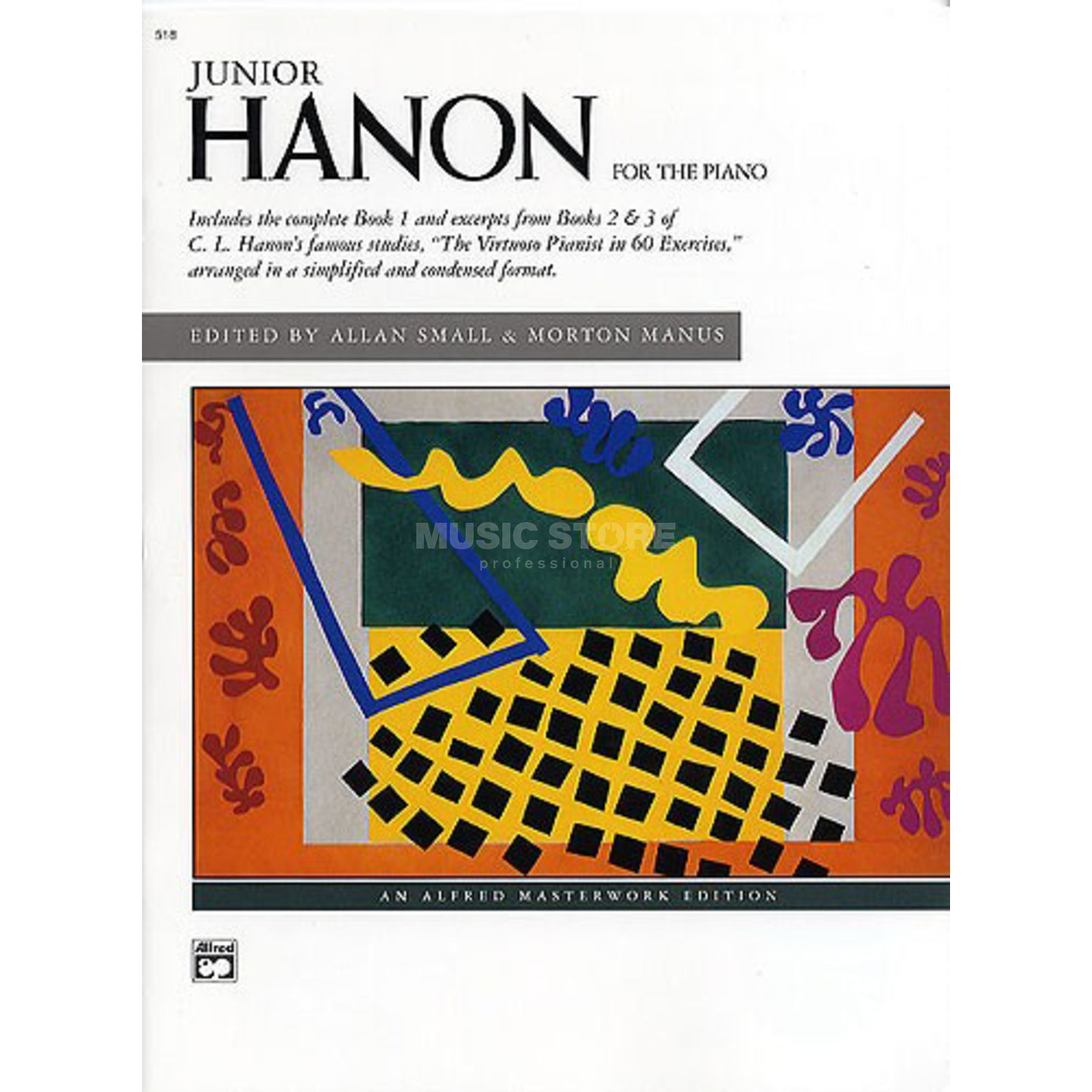 Alfred Music Junior Hanon for the Piano Charles Louis Hanon, Klavier Produktbillede