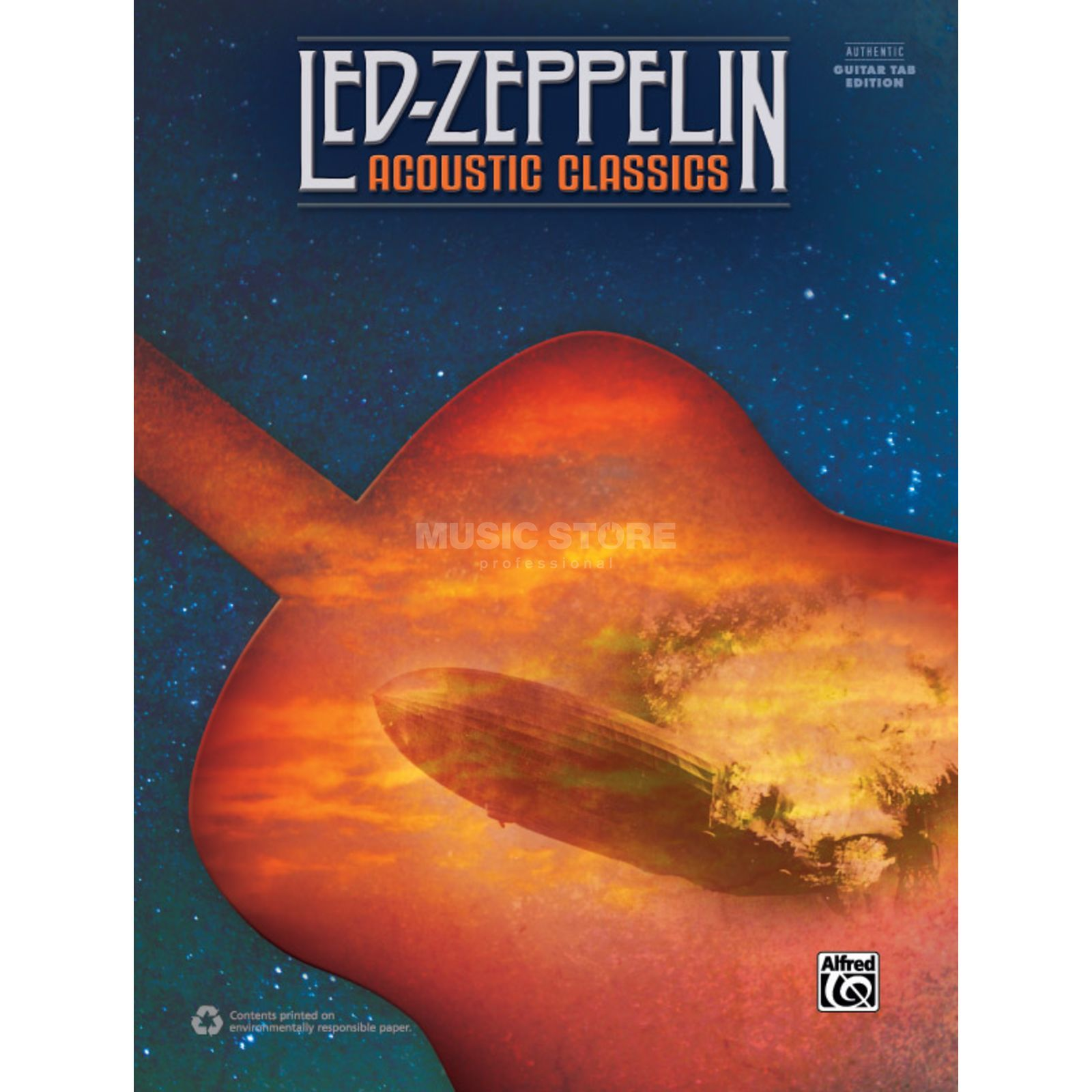 Alfred Music Led Zeppelin: Acoustic Classics (Revised) Produktbild