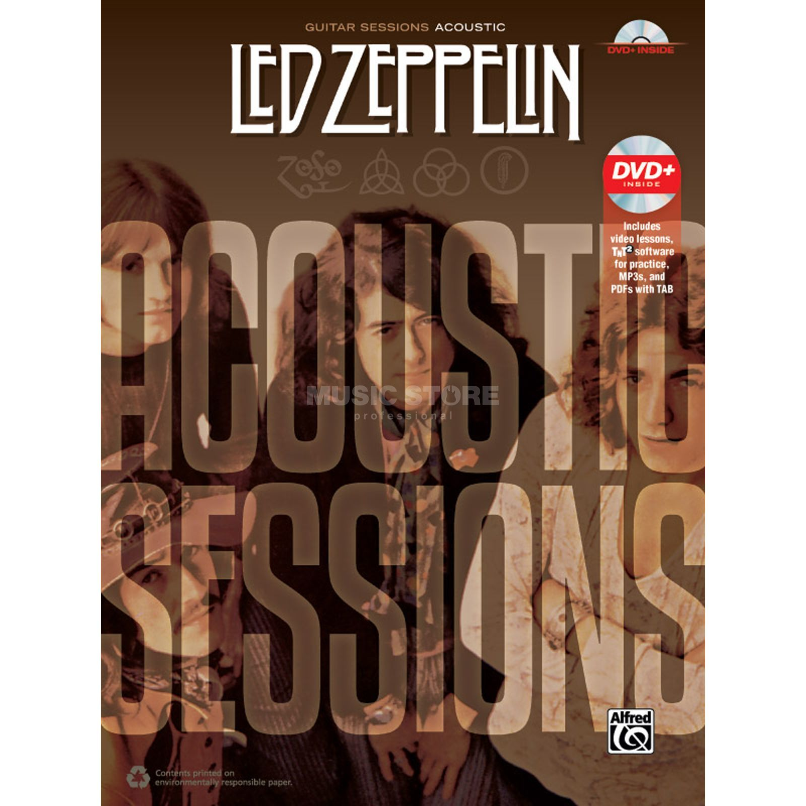 Alfred Music Led Zeppelin: Acoustic Sessions TAB Produktbild