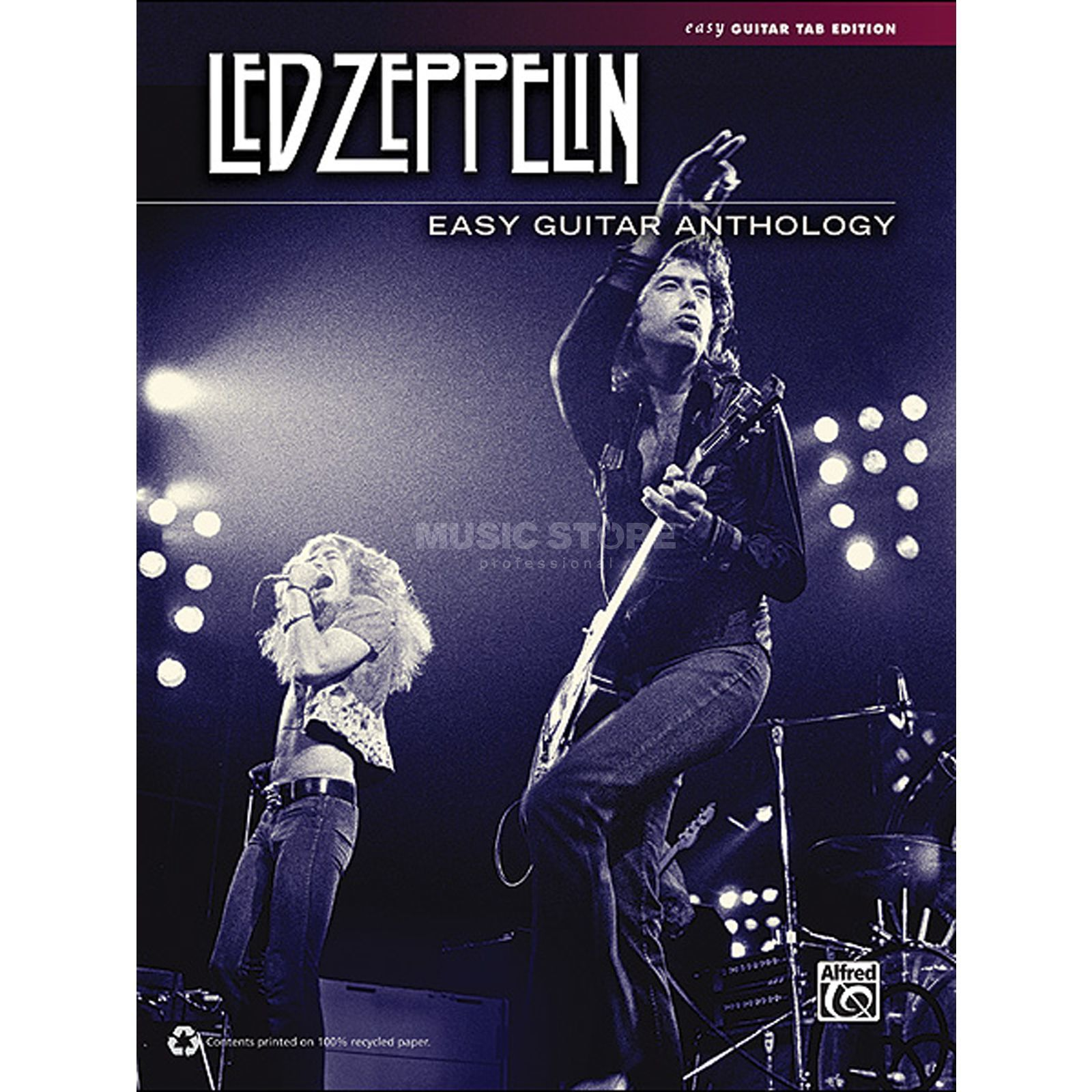 Alfred Music Led Zeppelin: Easy Guitar Anthology Produktbild