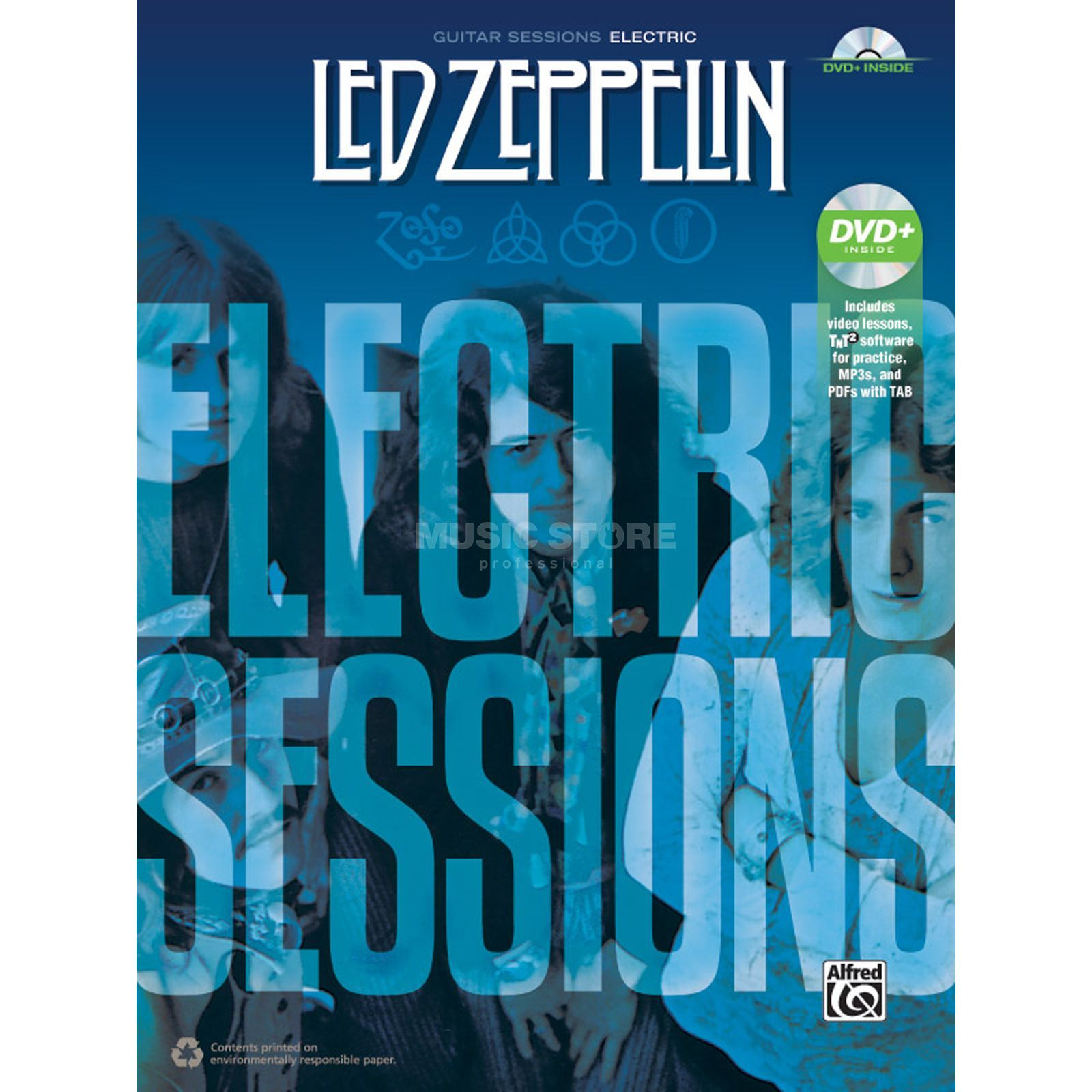 Alfred Music Led Zeppelin: Electric Sessions TAB Produktbild