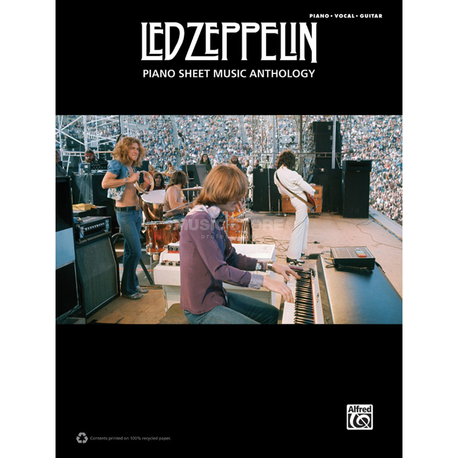 Alfred Music Led Zeppelin: Piano Sheet Music Anthology Produktbild
