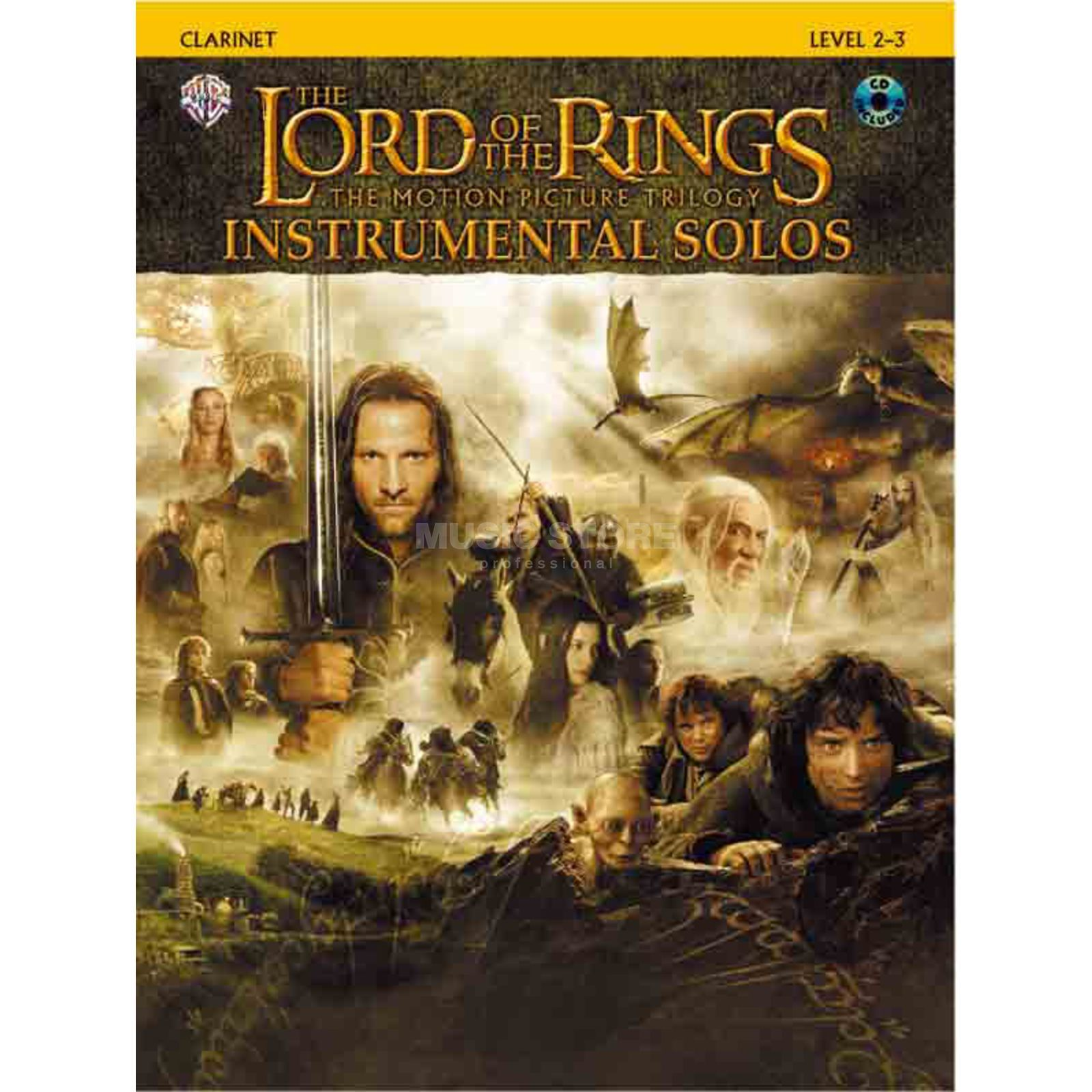 Alfred Music Lord of the Rings - Clarinet Instrumental Solos, Book/CD Produktbillede