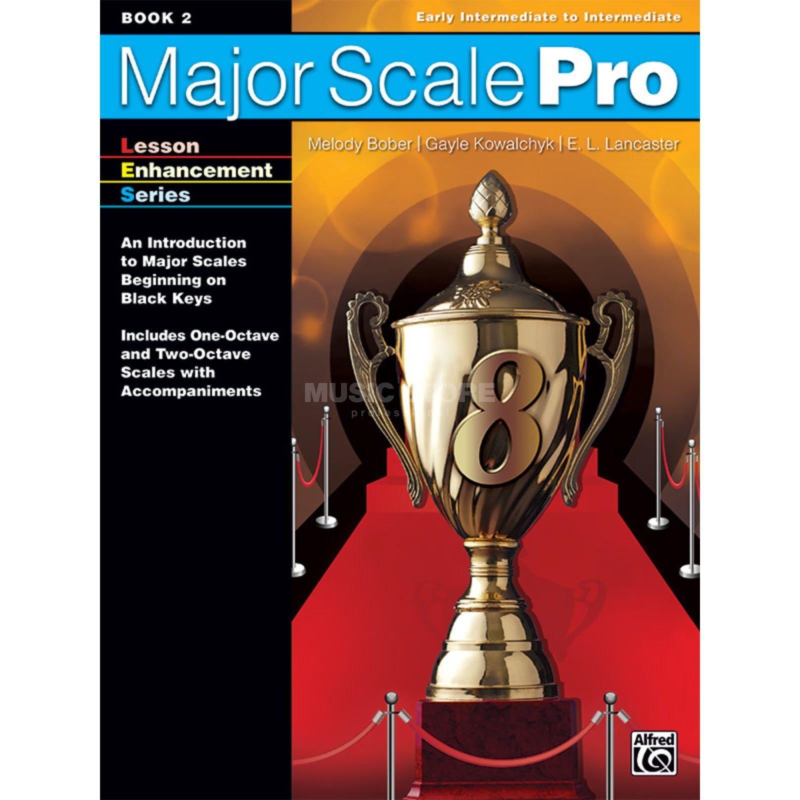 Alfred Music Major Scale Pro, Book 2 Productafbeelding