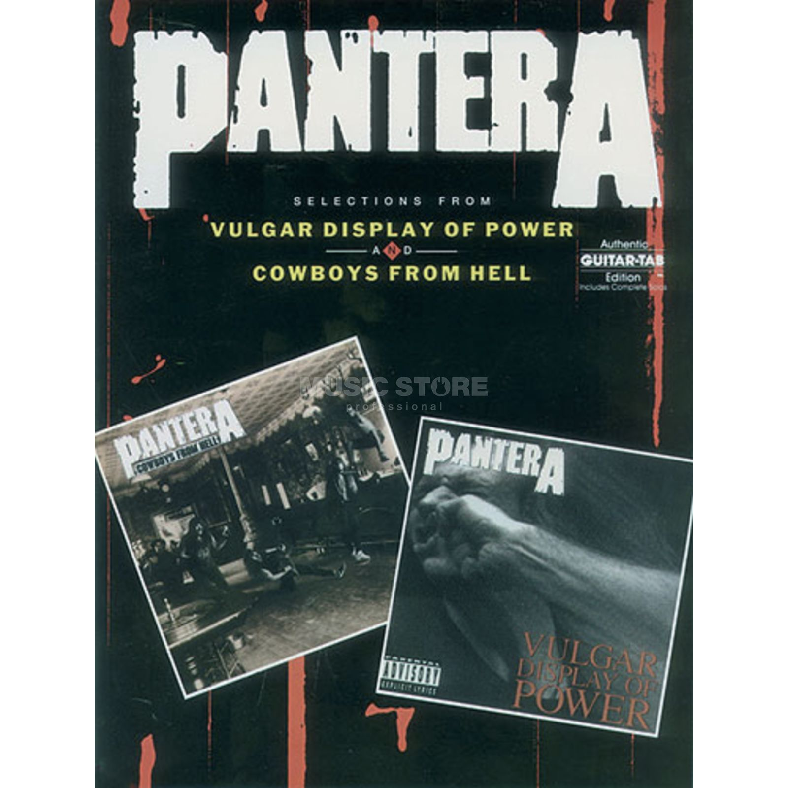 Alfred Music Pantera: Vulgar Display of Power/Cowboys From Hell Produktbillede