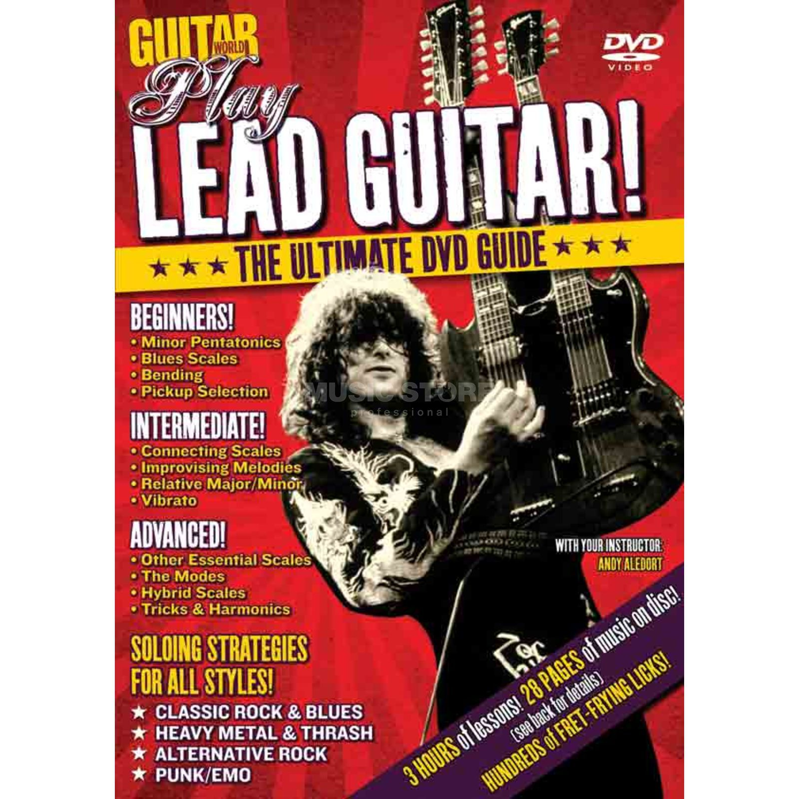 Alfred Music Play Lead Guitar! Guitar World DVD Produktbillede