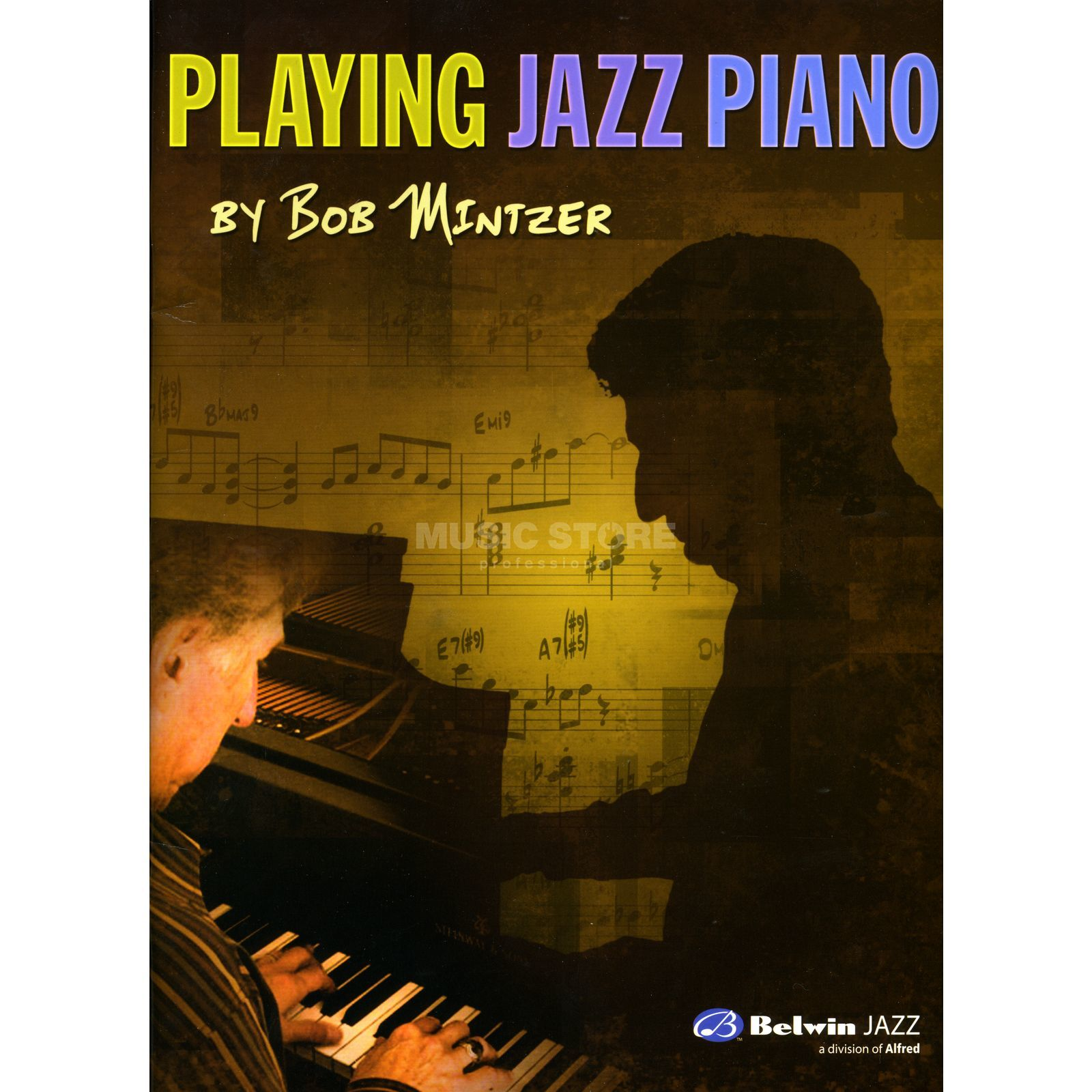 Alfred Music Playing Jazz Piano Bob Mintzer Produktbild